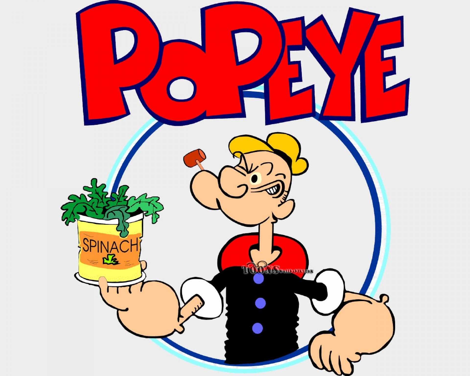 cartoon popeye sailor man 1920x1080