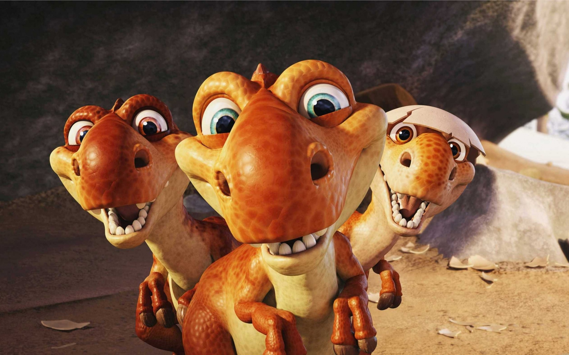 cartoons dinosaurs ice age 3