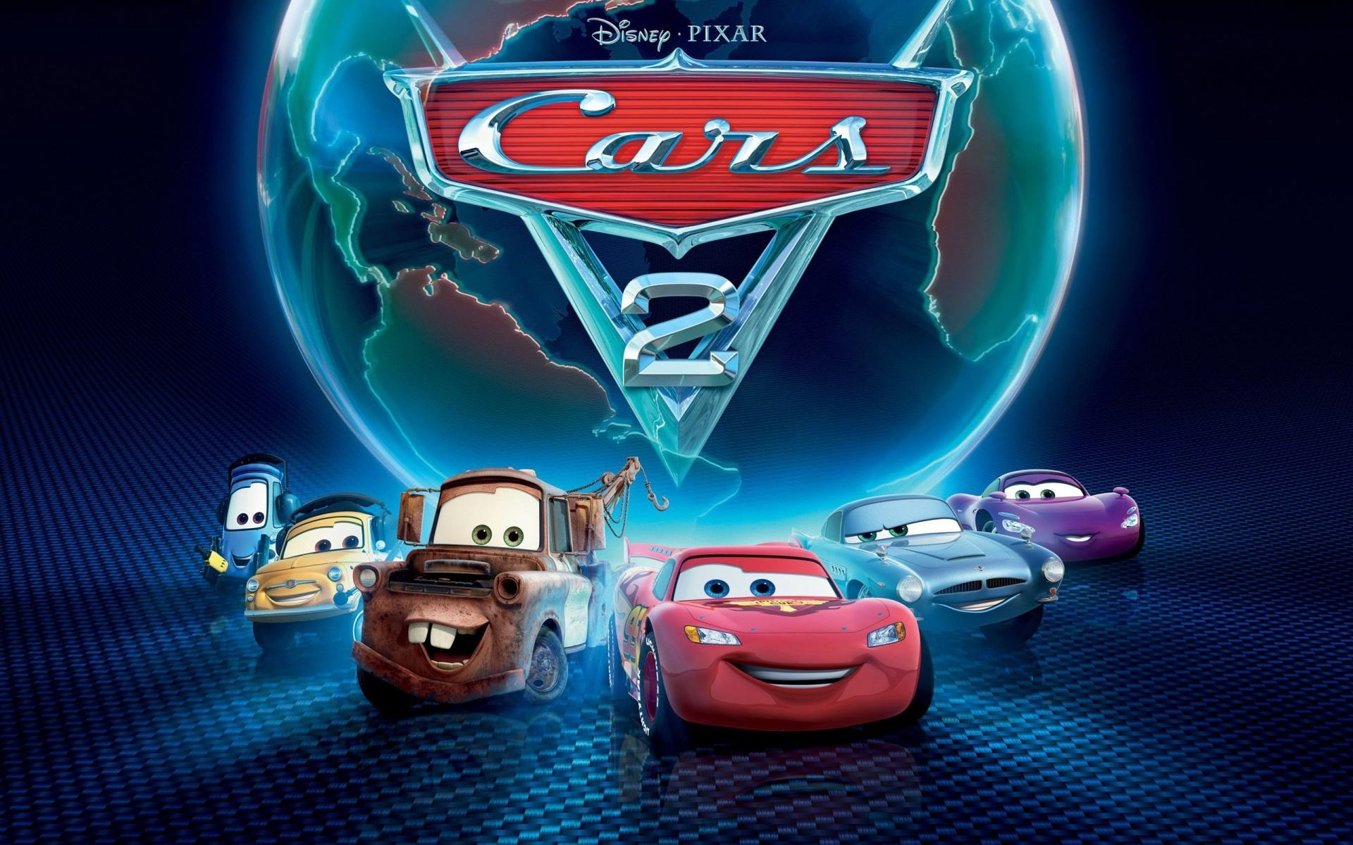 disney pixars cars 2 hd wallpaper
