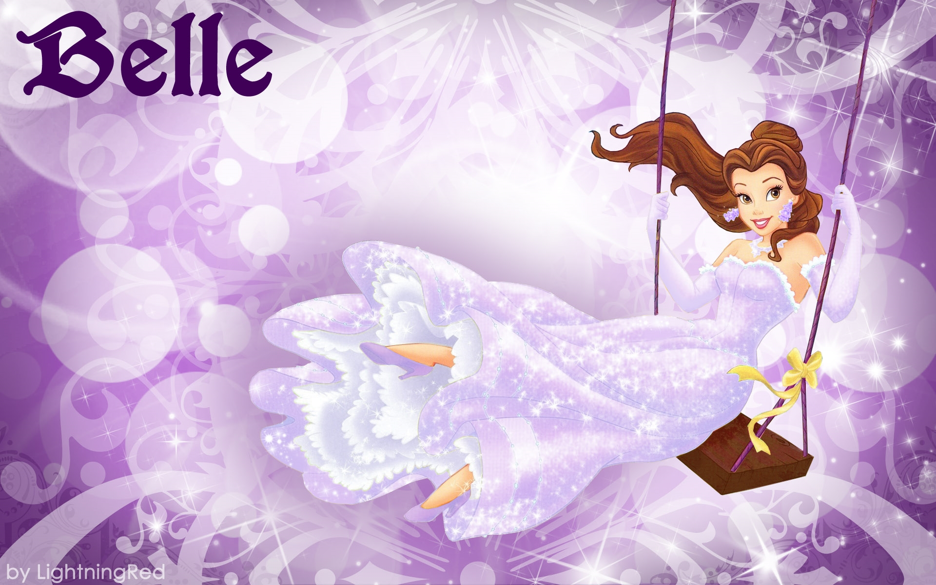 disney princess belle pictures desktop background