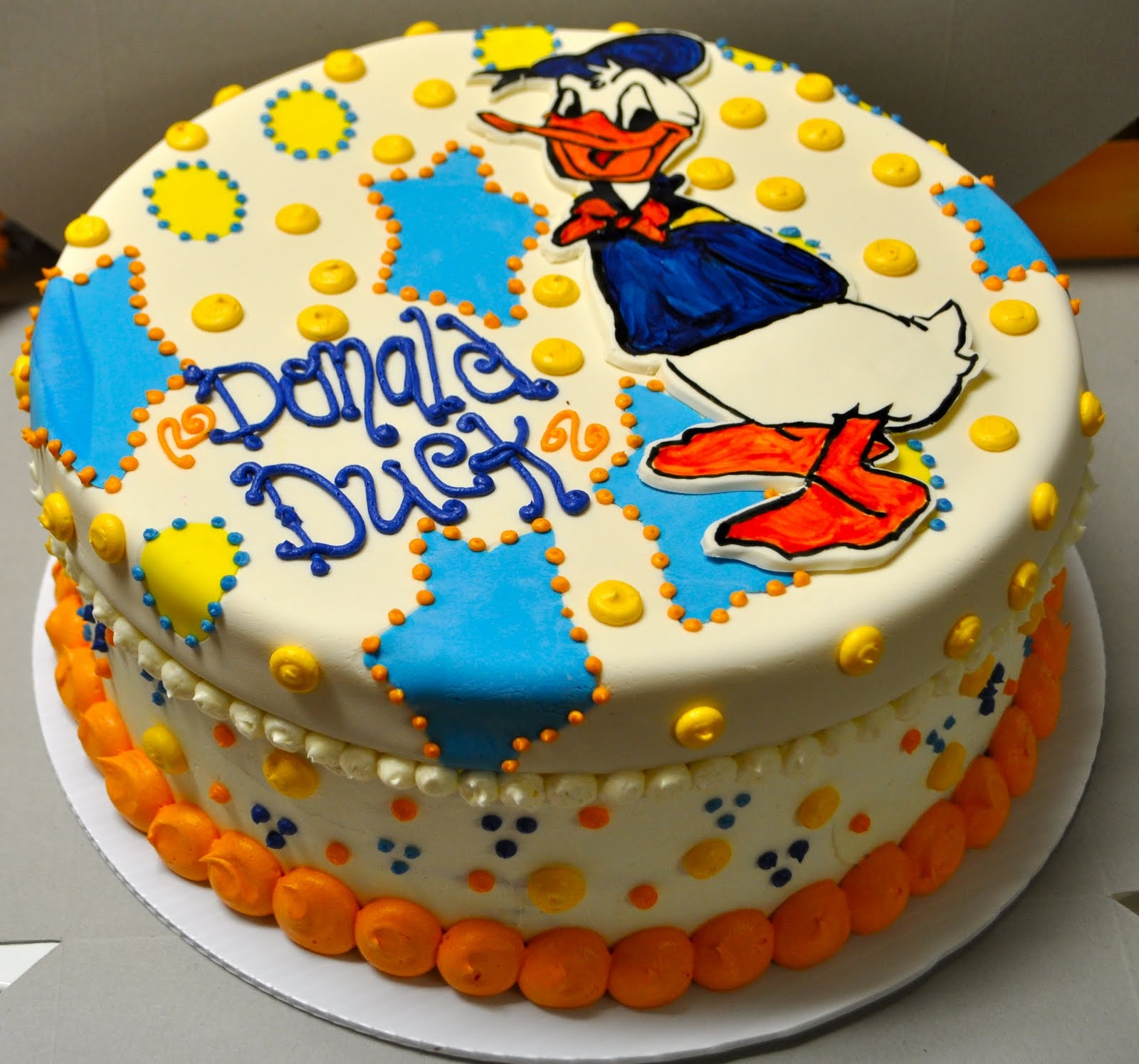 donald duck walt disney cake wall paper
