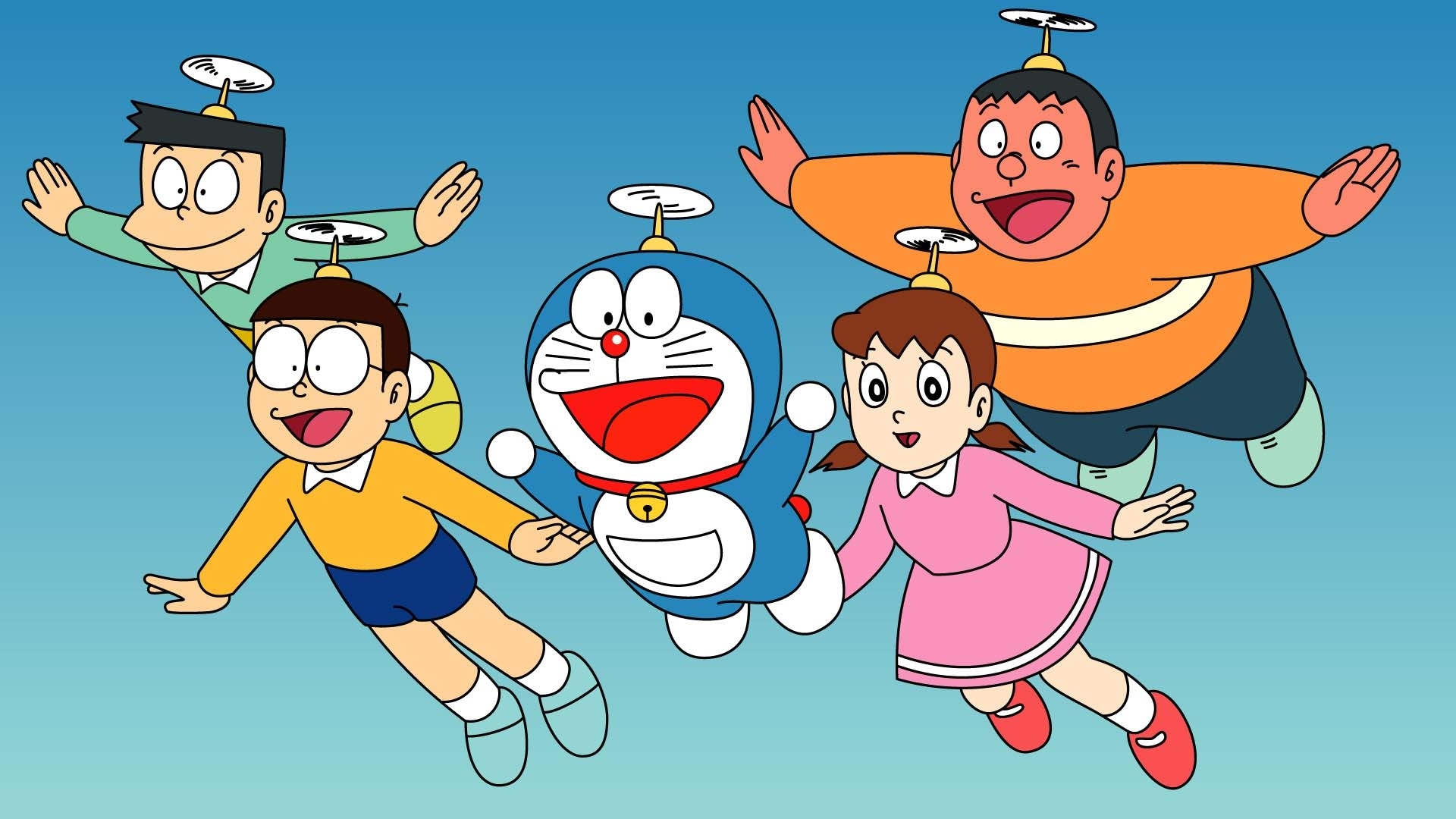 doraemon nobita wallpaper hd