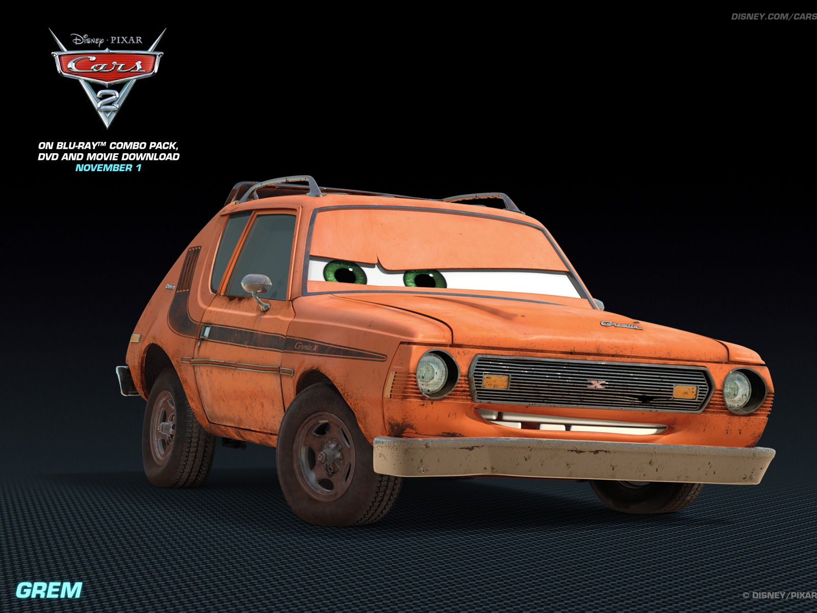 grem disney pixar cars 2 free hd wallpaper.1600 1200