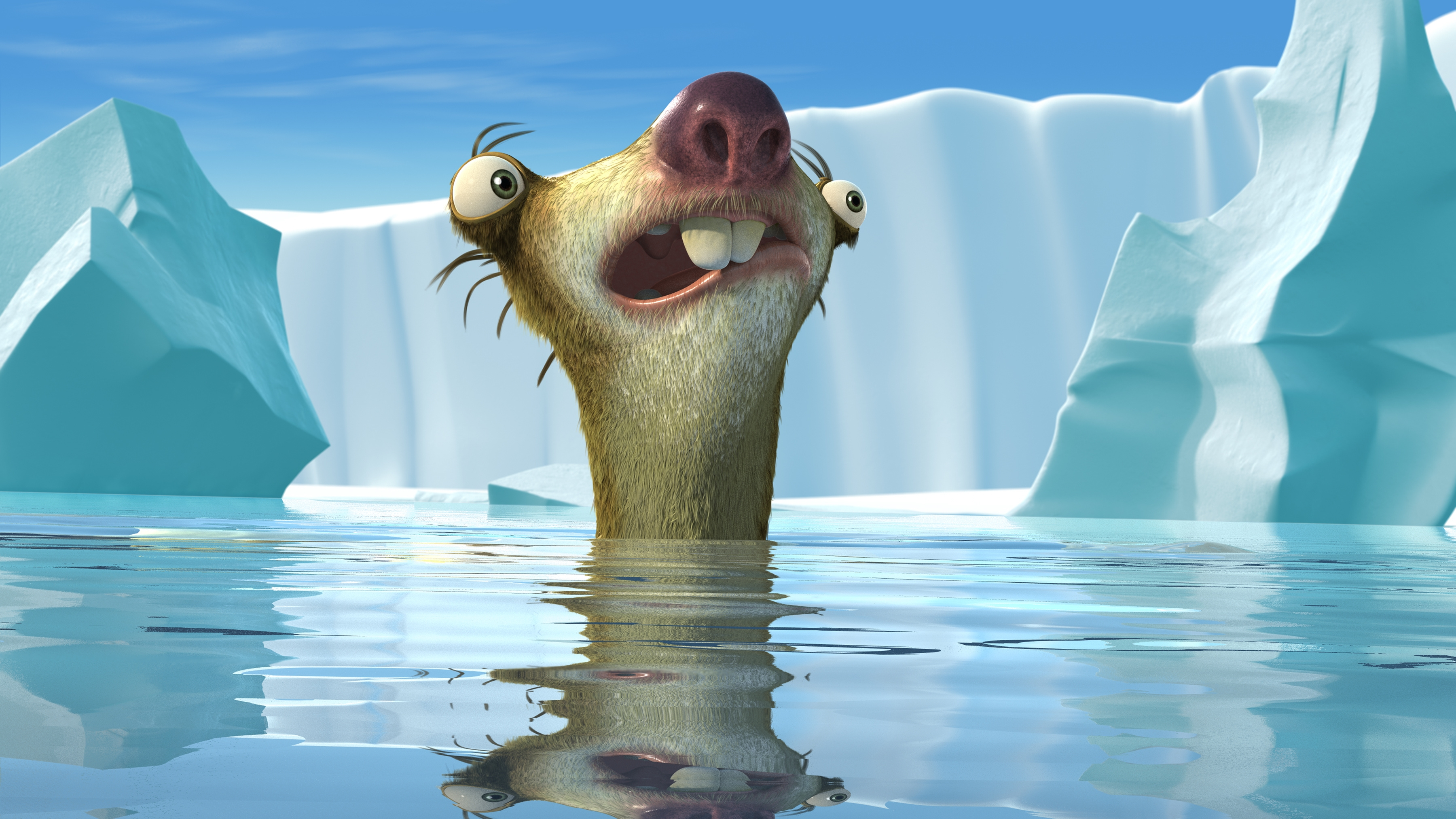 ice age 1 2 3 4 sid sloth hd wall paper