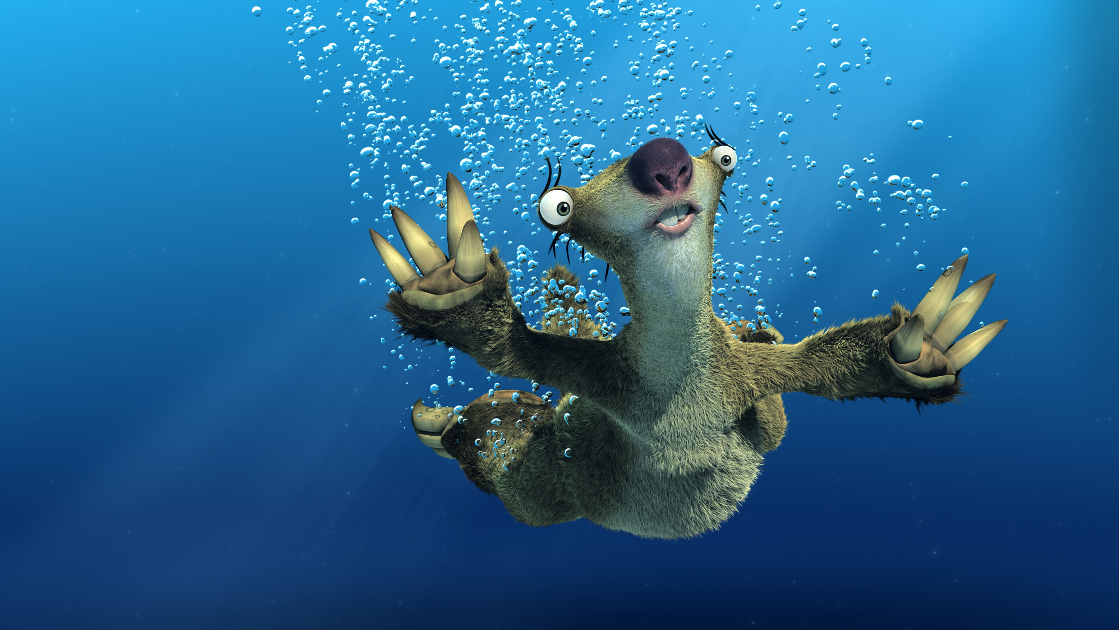 ice age sloth sid hd wall paper