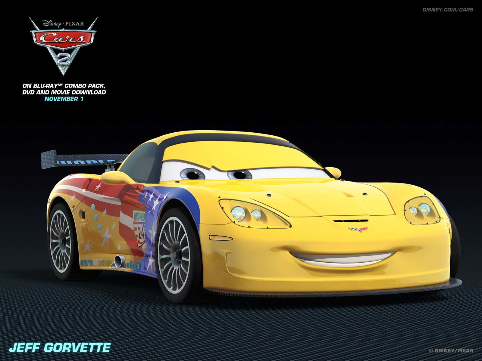 jeff grovette disney pixar cars 2 free hd wallpaper 1600 1200