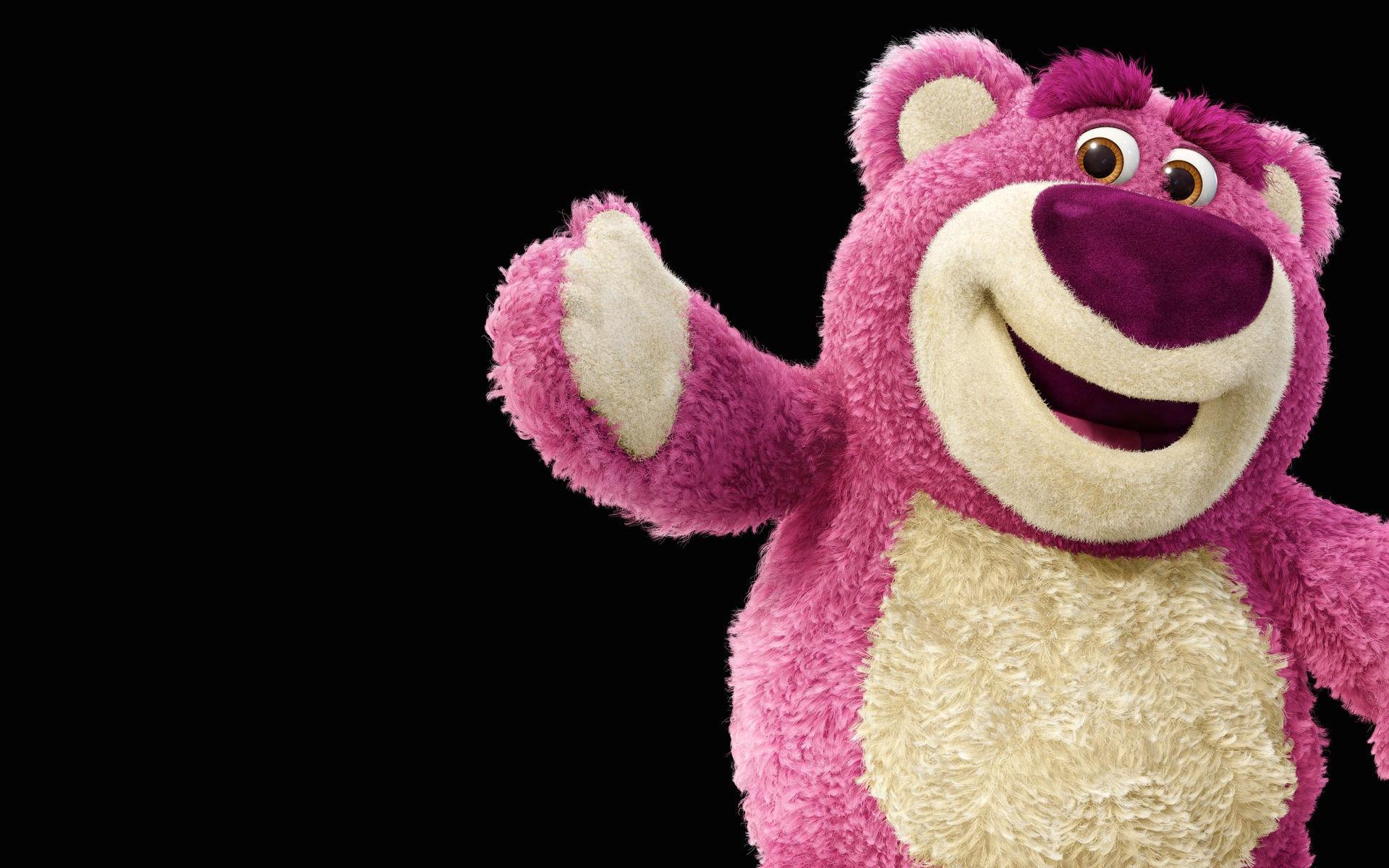 lots o huggin bear lotso teddy bear toy story