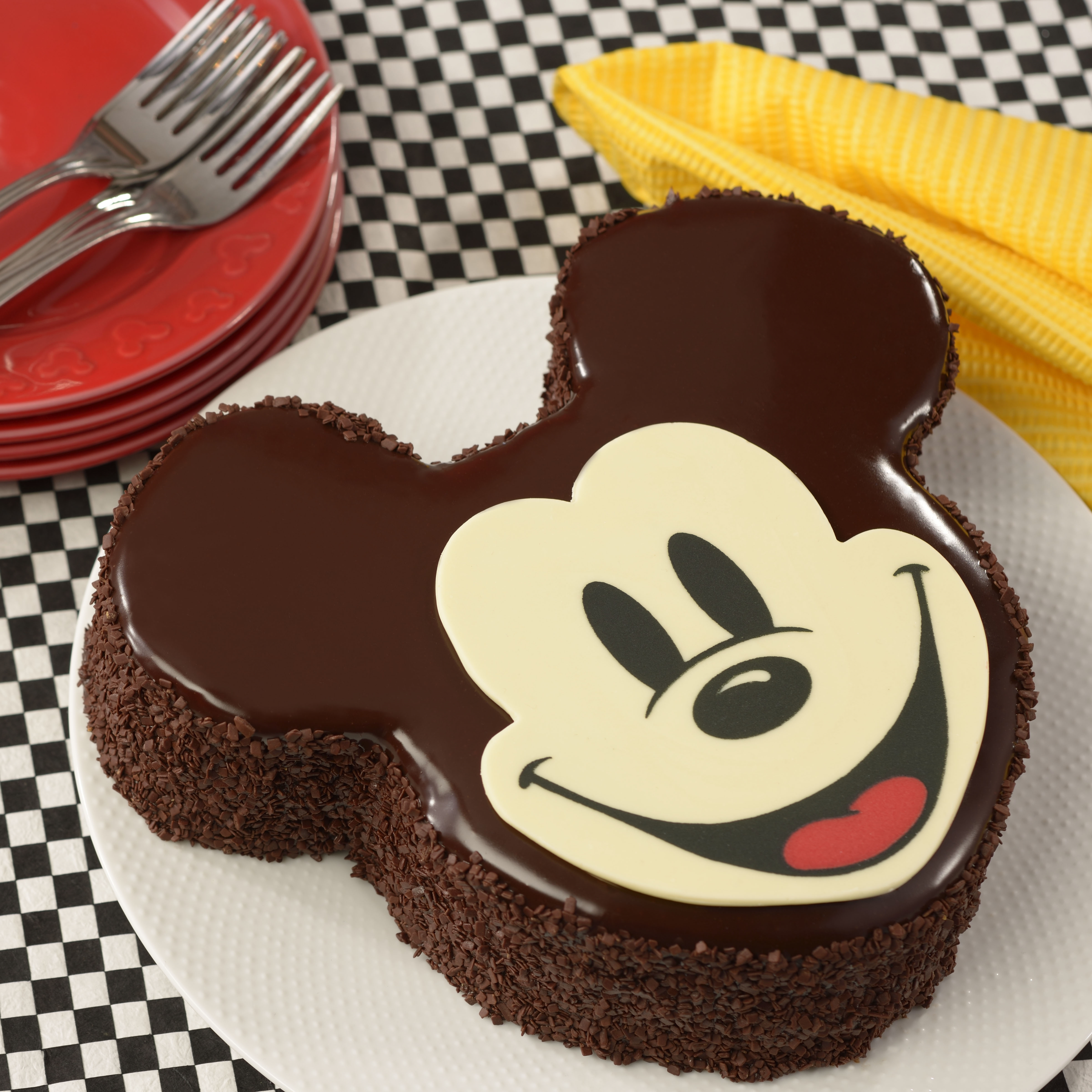 Mickey Mouse Cream Cake Images : Mickey Mouse Cake