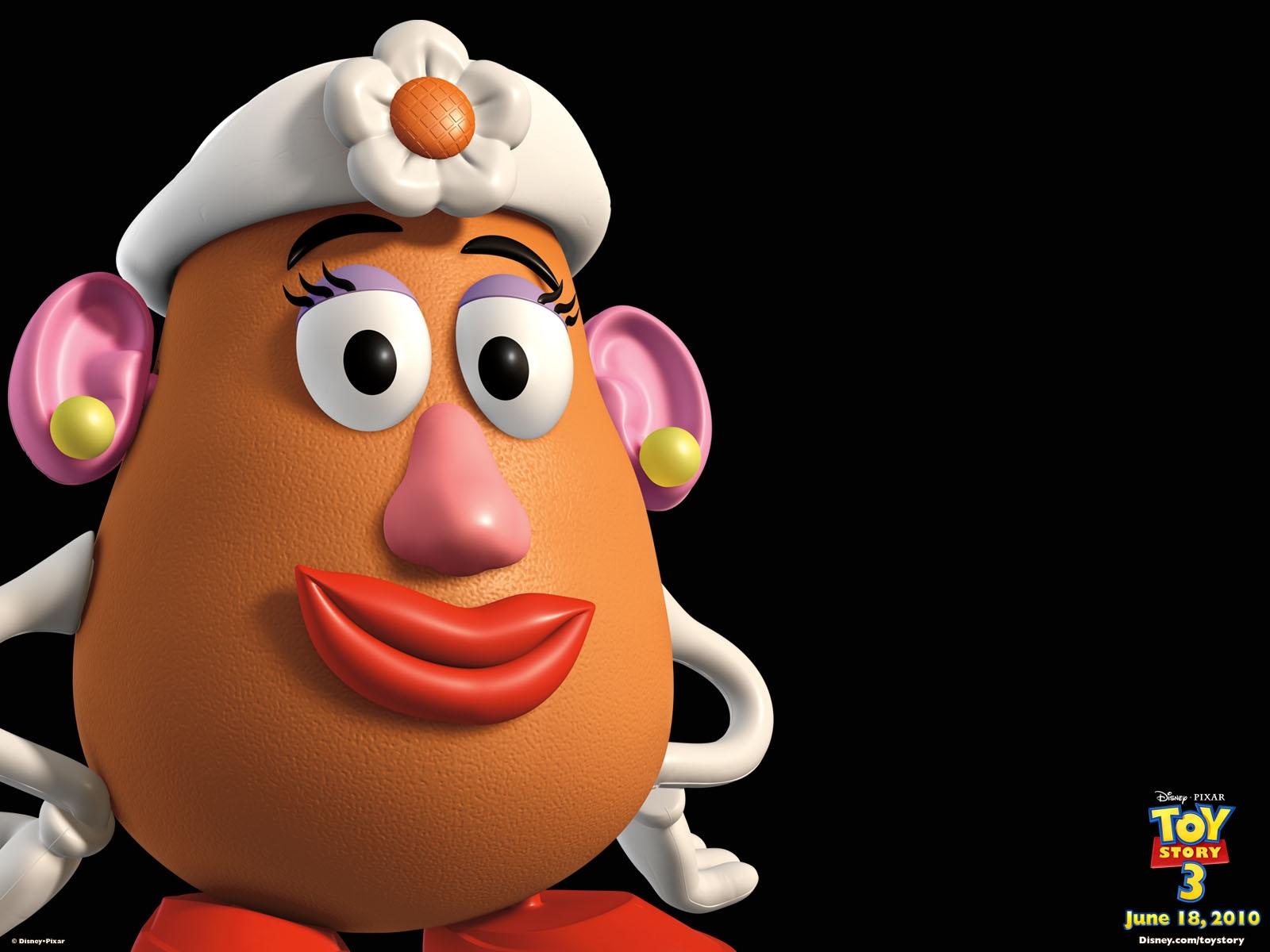 mrs potato head toy story 1 2 3 free hd wallpaper
