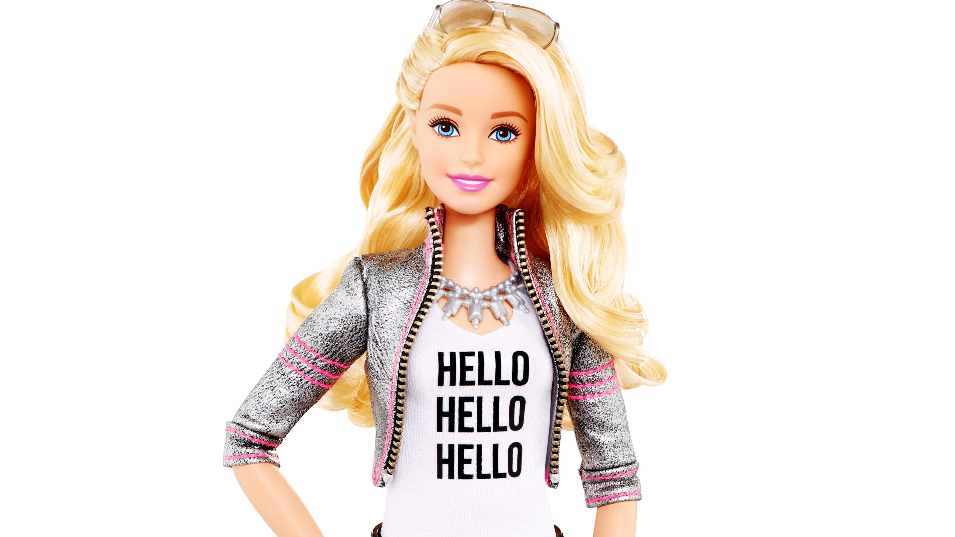 poster hello barbie talking toy