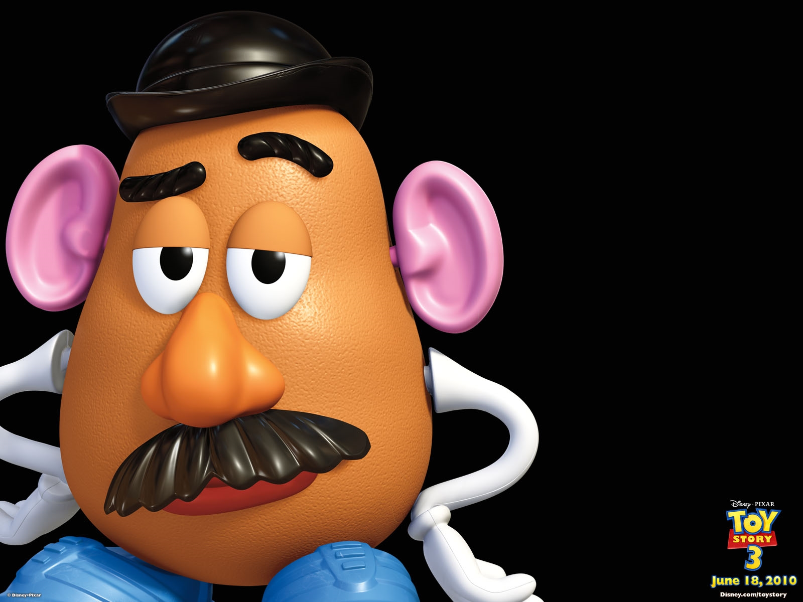 potato head toy story 1 2 3 free hd desktop wallpaper