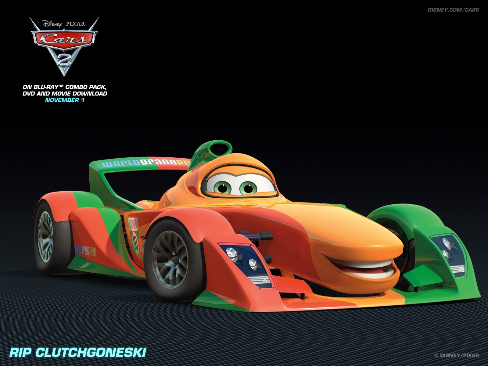 rip clutchgoneski disney pixar cars 2 hd free image