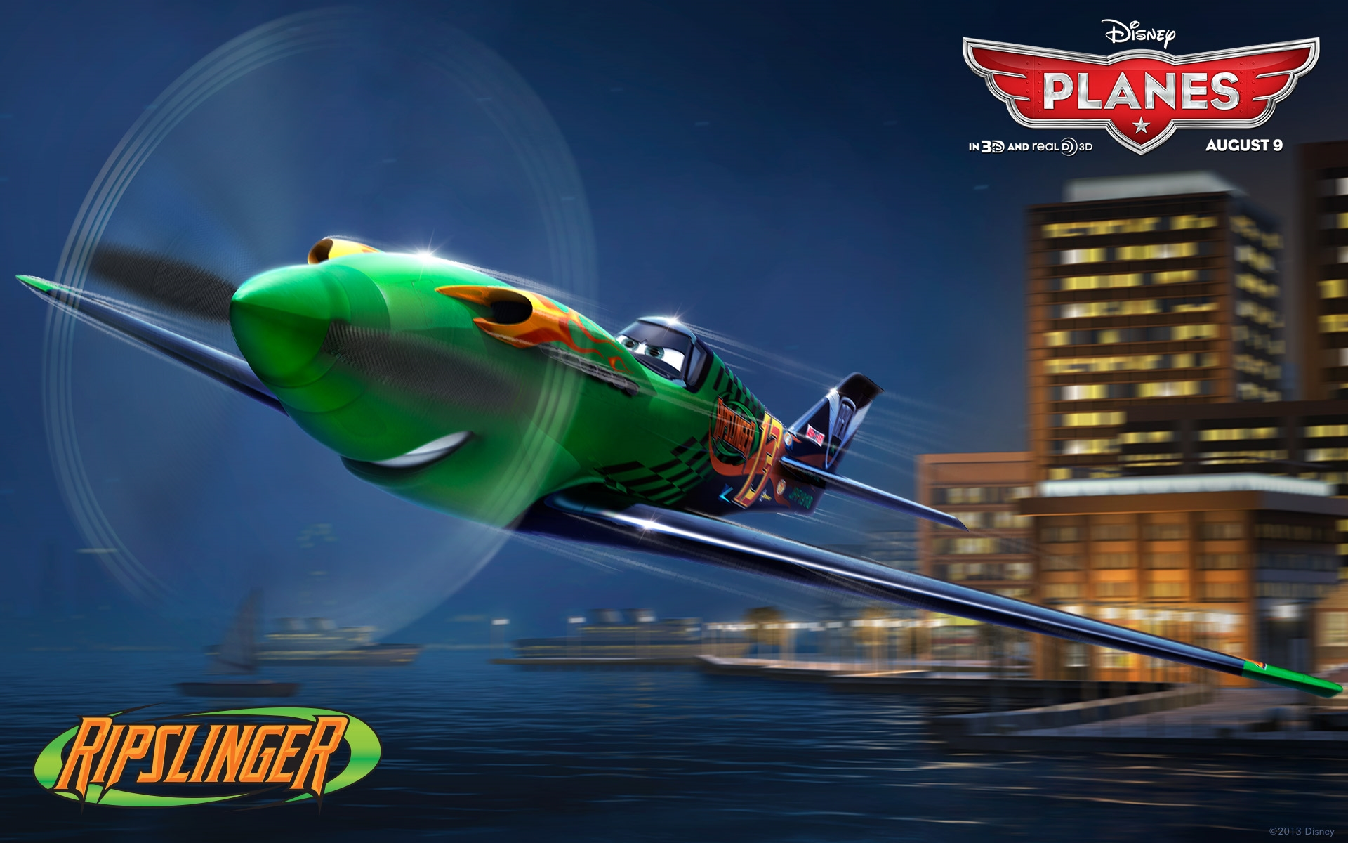 ripslinger disney pixar planes free hd desktop wallpaper