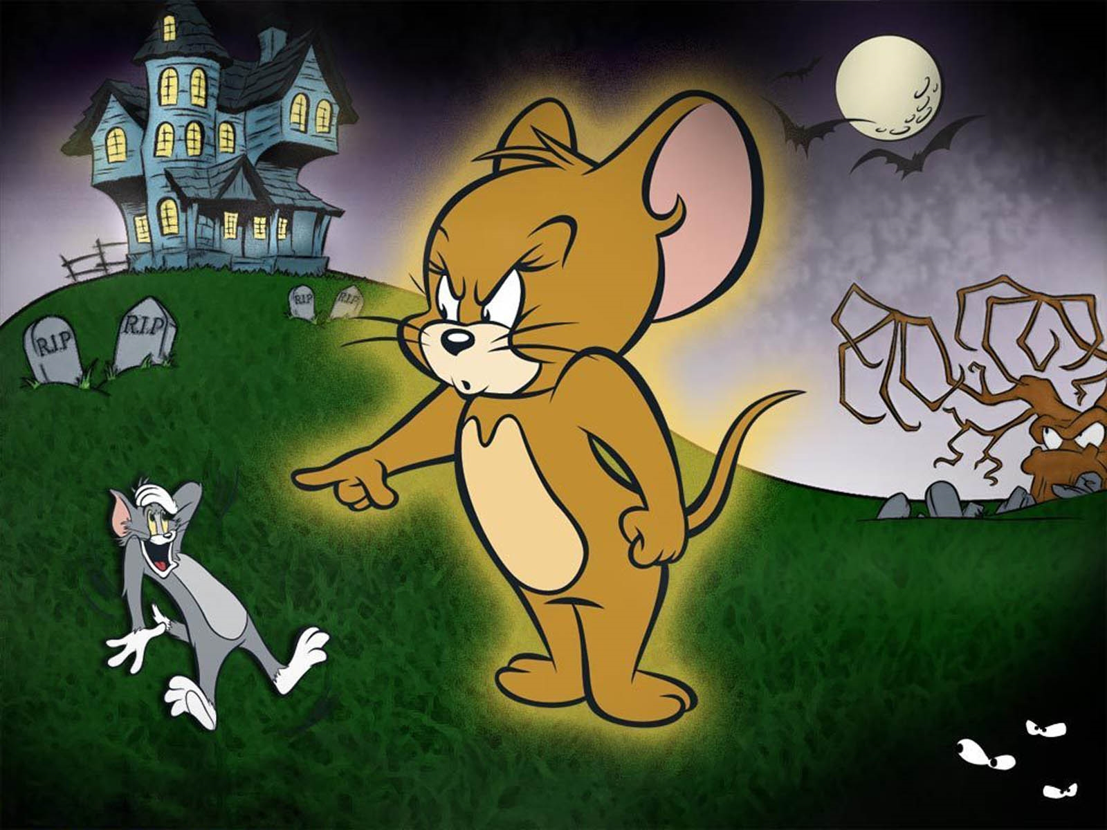 tom and jerry golf free wallpaper