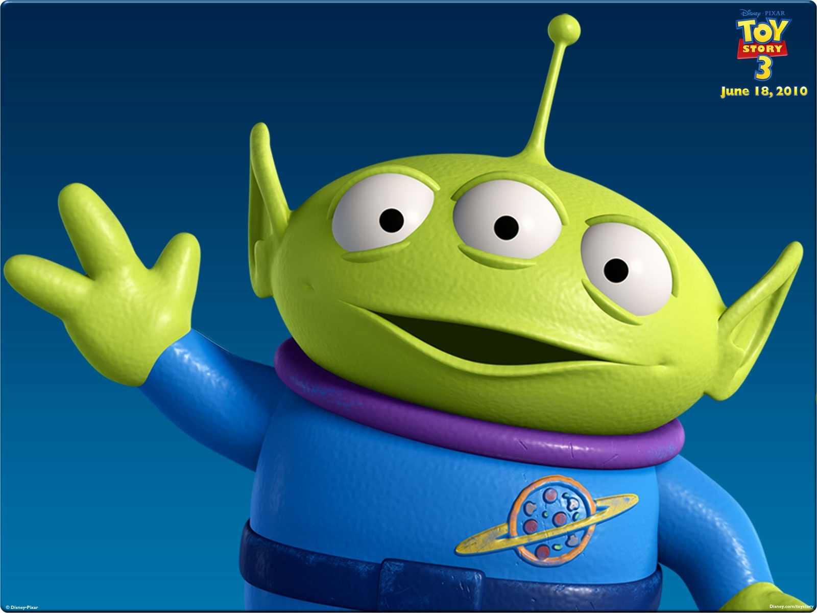 toy story 3 aliens eyes free wallpapers