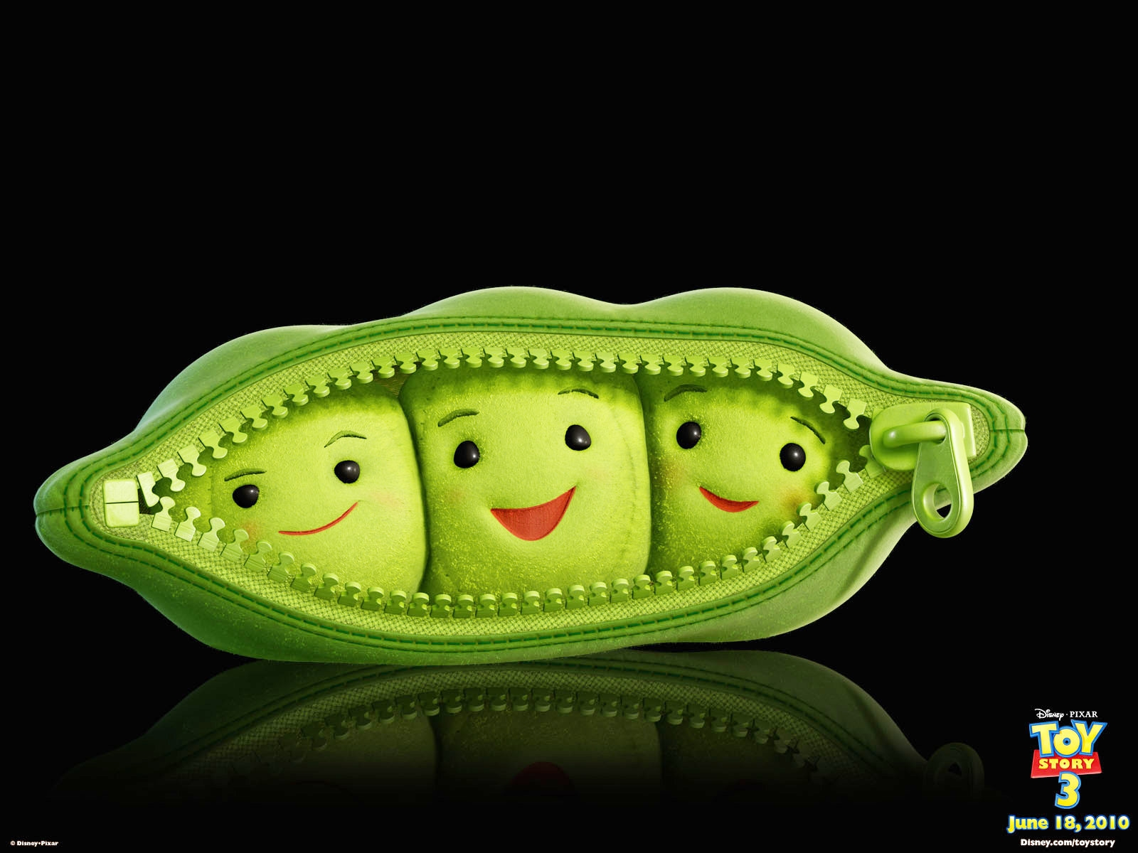 toy story 3 peas wallpaper
