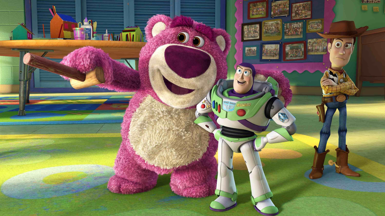 toy story 3 teddy buzz woody