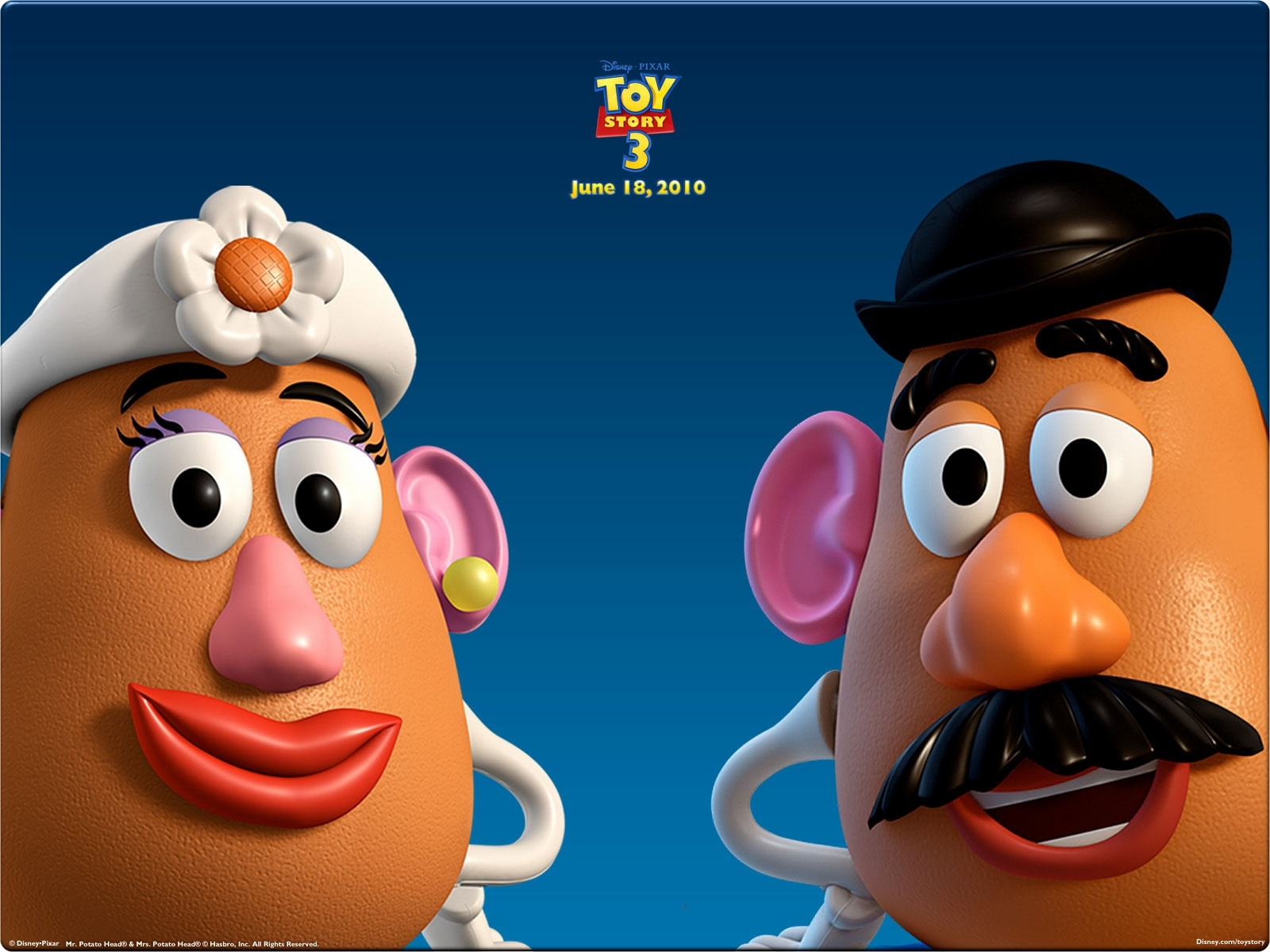 toy story 3 wallpaper potato head