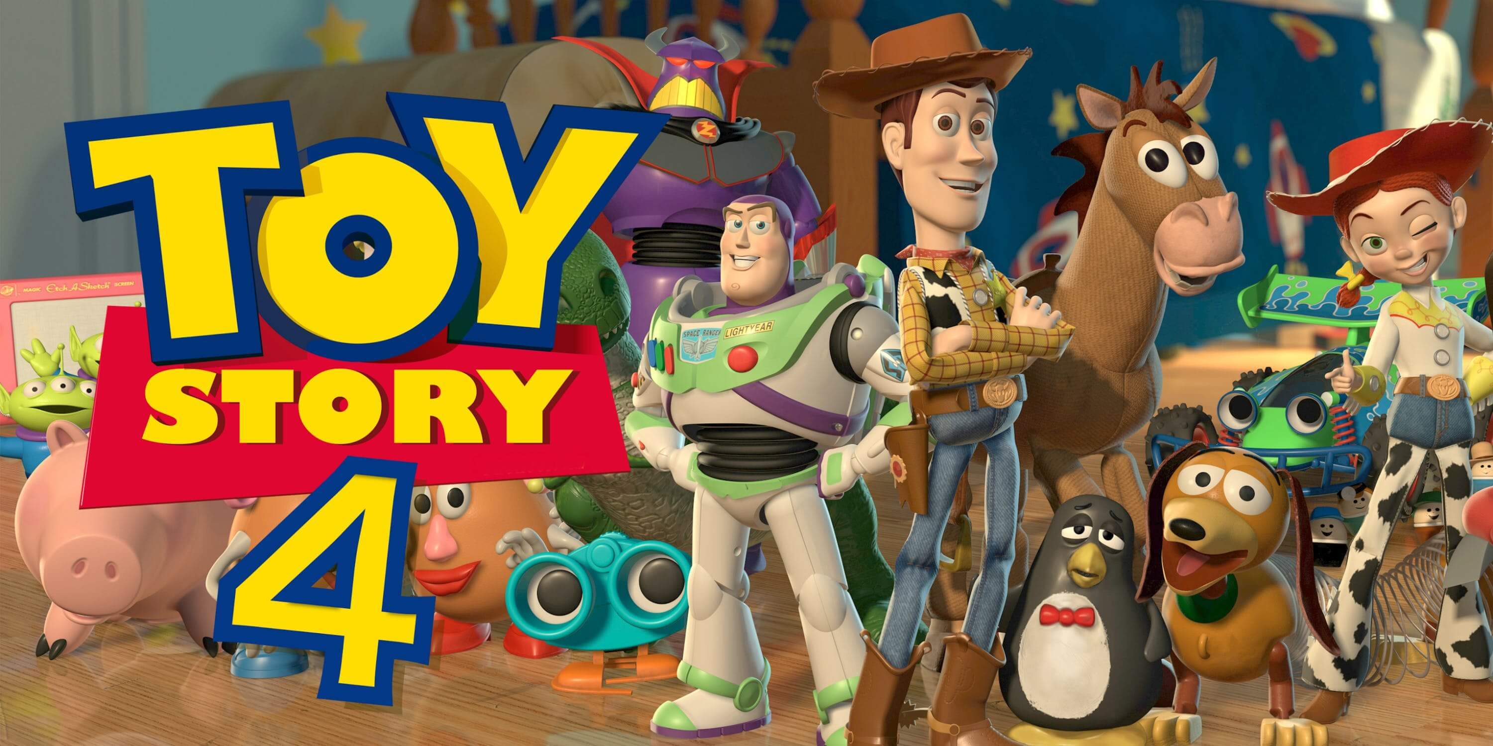 Toy Story 4 Full Team Woody Buzz Hd Wallpaper