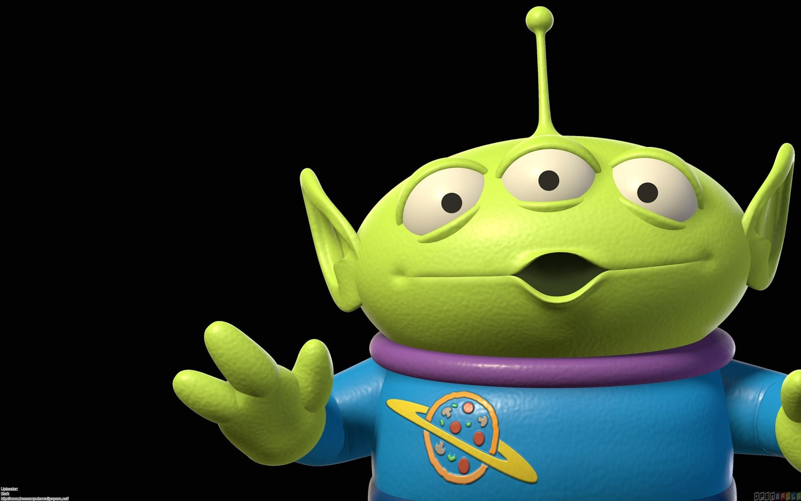 Toy Story Aliens Three Eyes