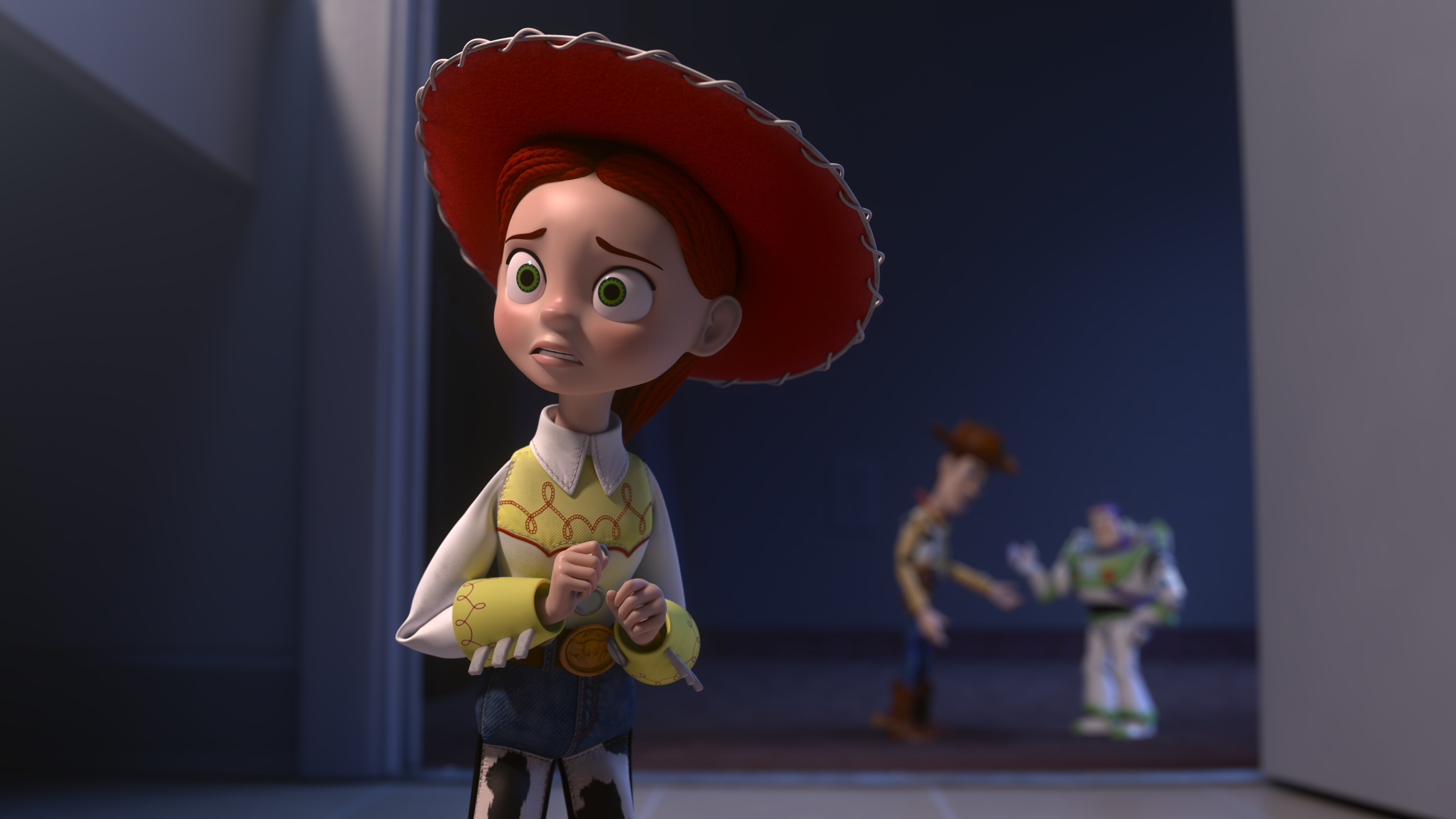 toy story jessie woody buzz