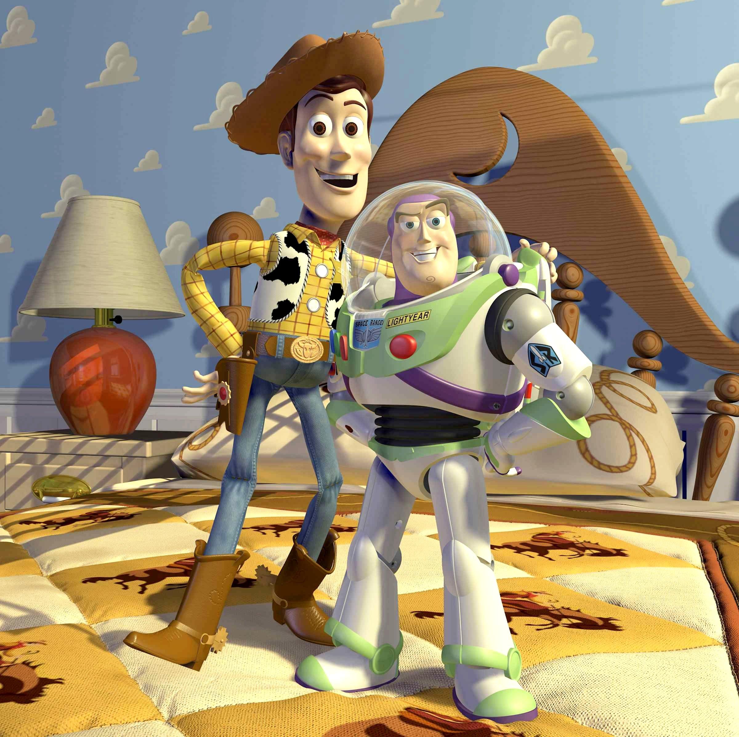 toy story movie buzz woody