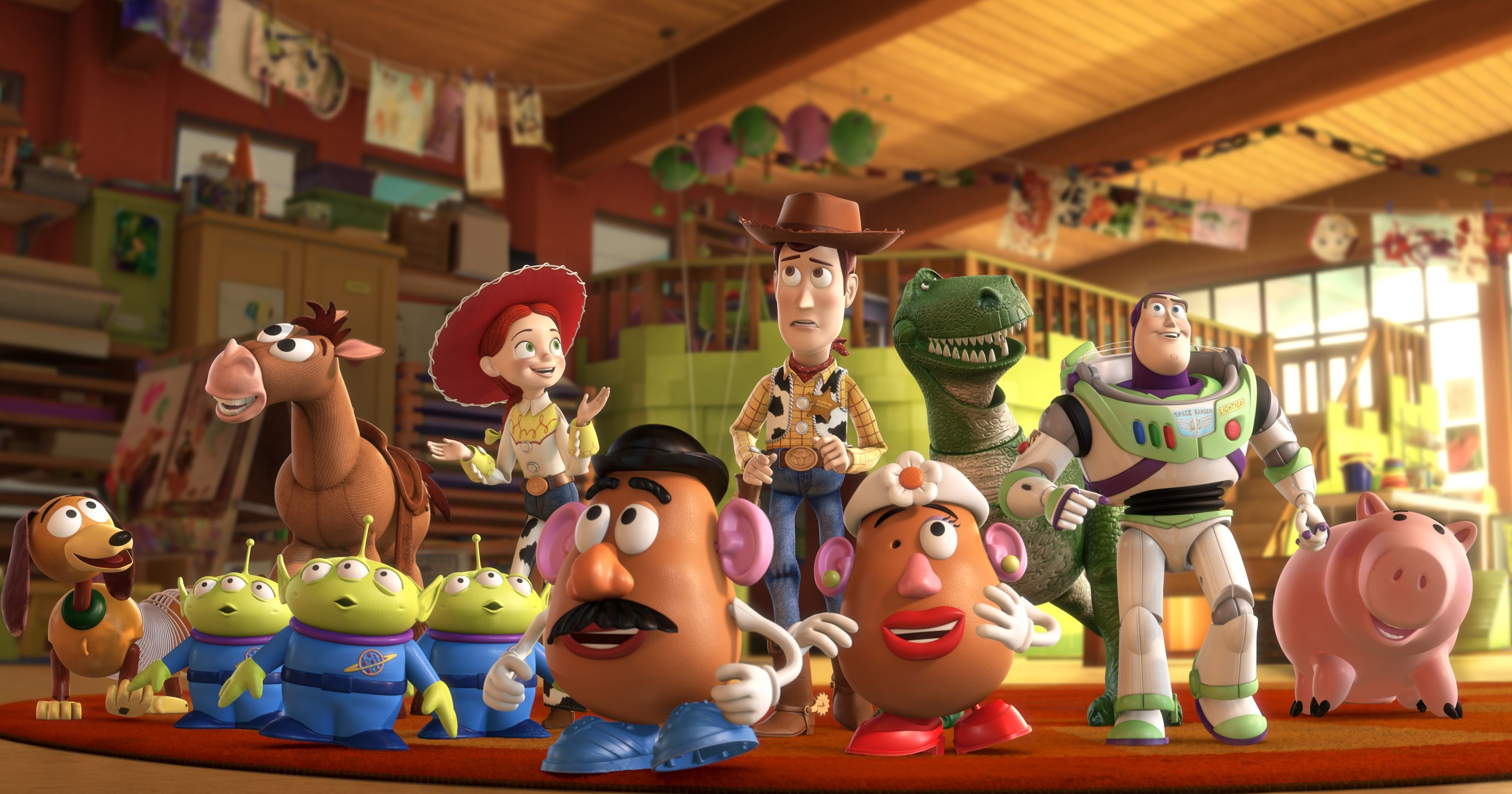 toystory 1 2 3 woody buzz light year family hd free wallpaper