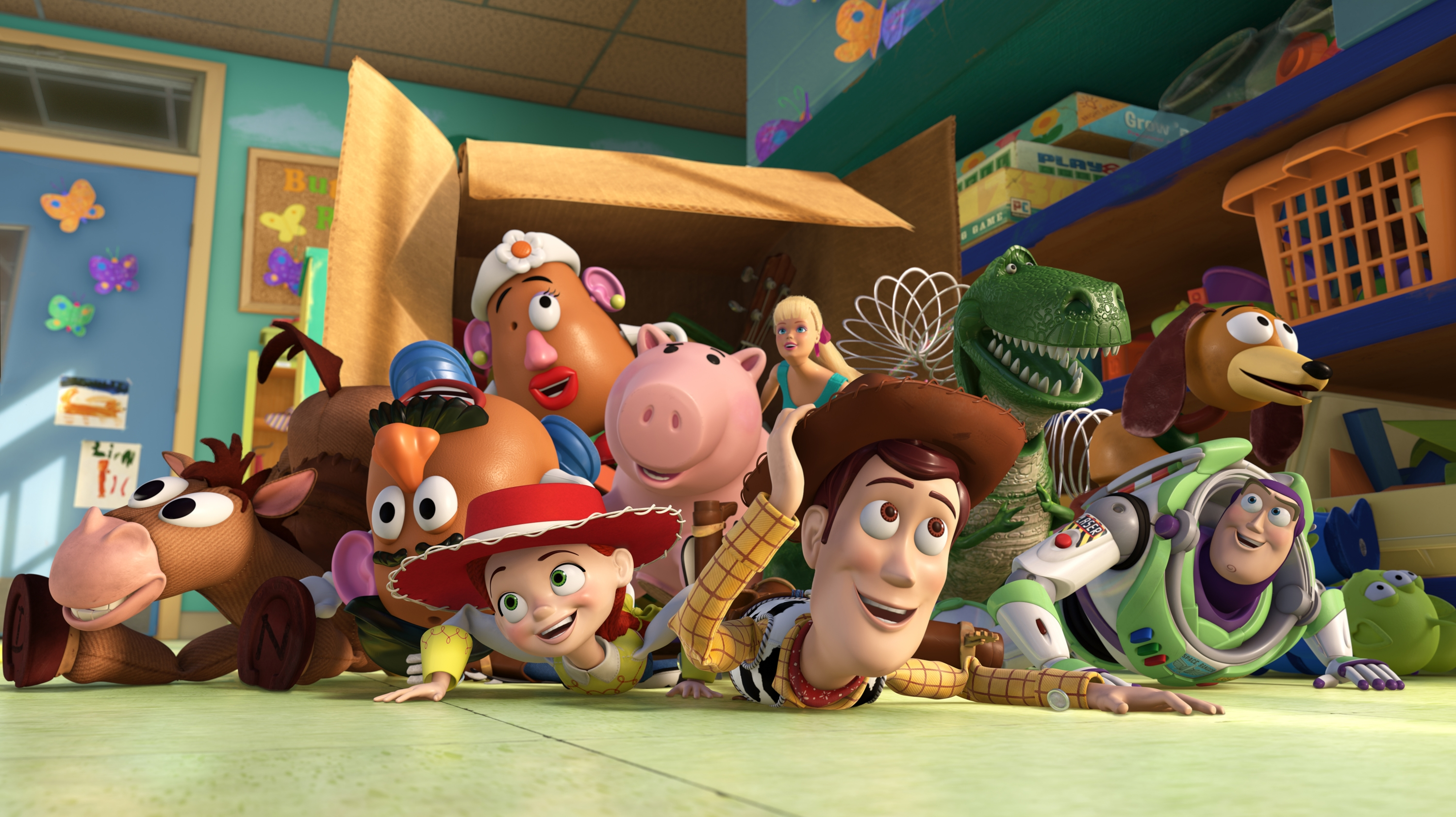toystory 1 2 3 woody buzz light year hd free desktop background