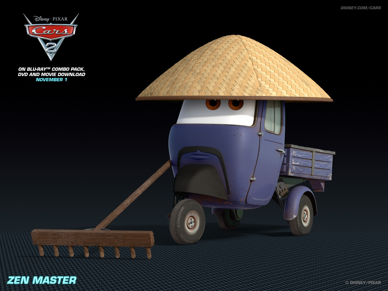 zen master disney pixar cars 2 free hd wallpaper 1600 1200