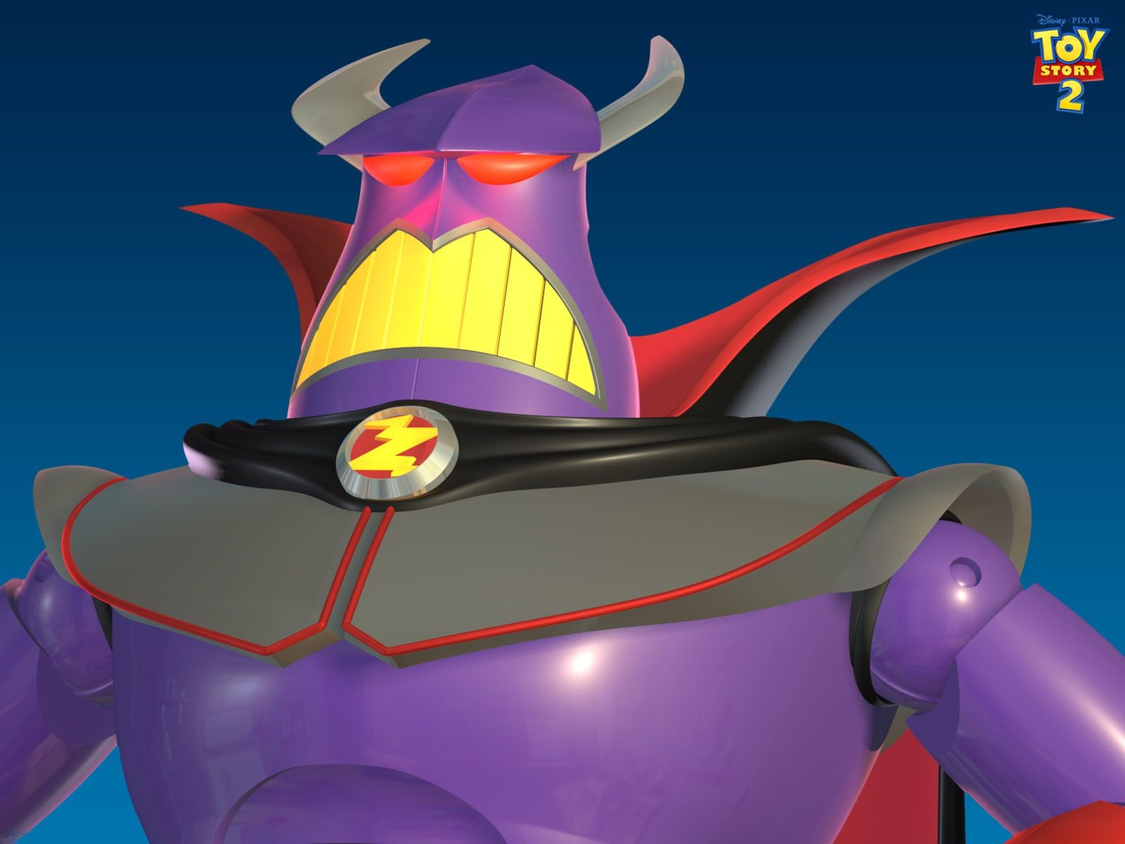 zurg headshot toy story 2 free wallpaper