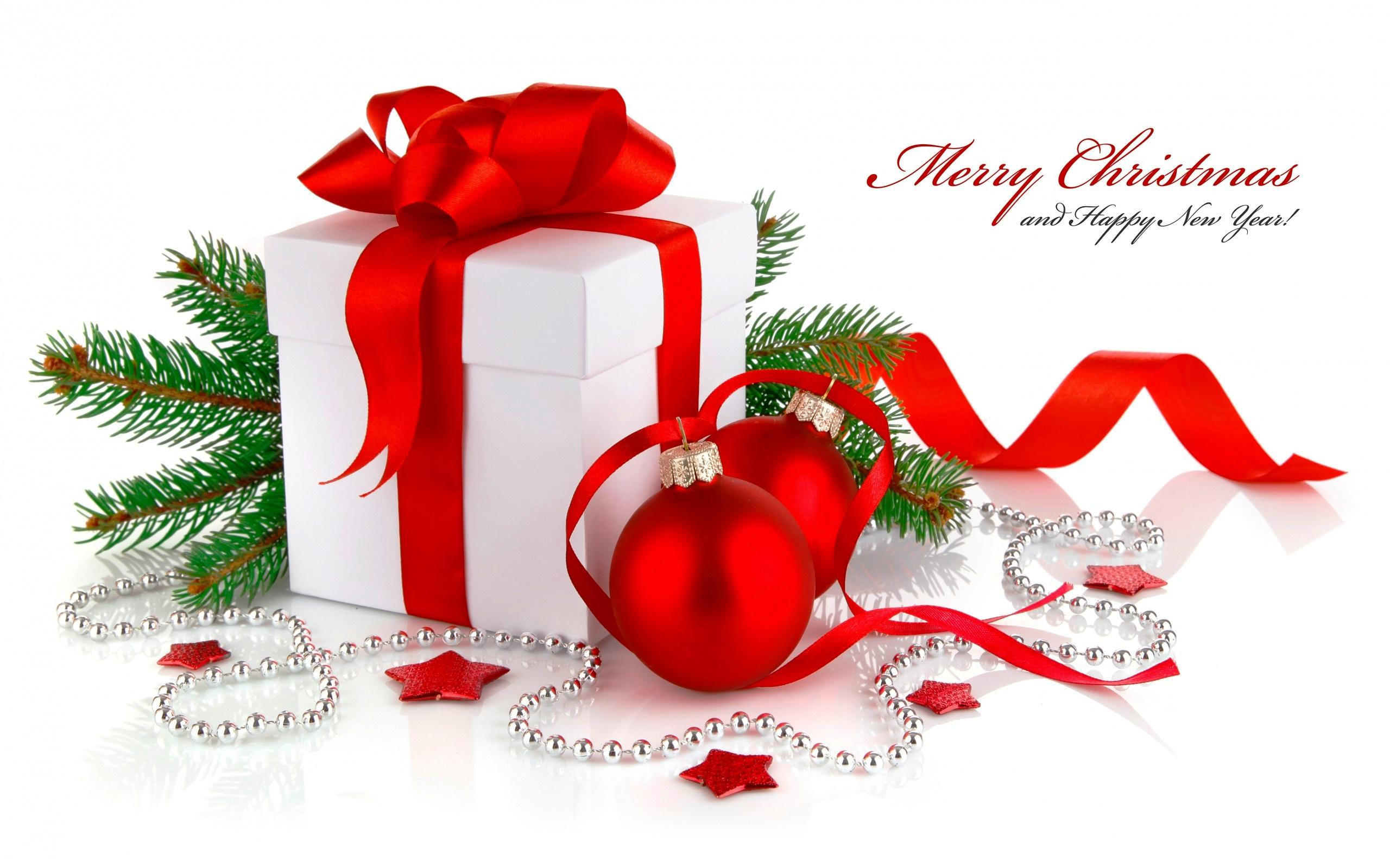 christmas and happy new year wishes hd wallpaper