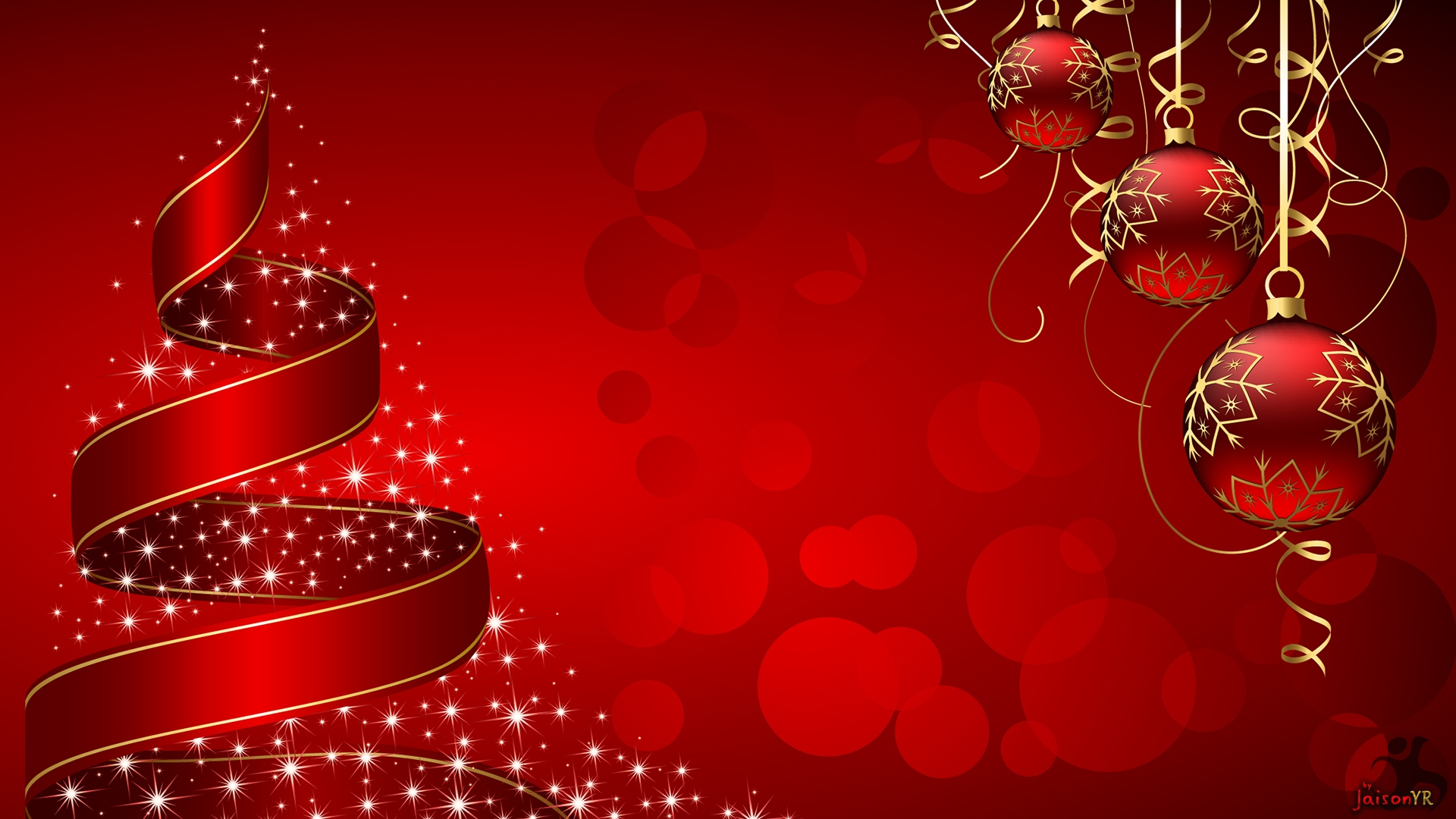 christmas new year wallpaper hd