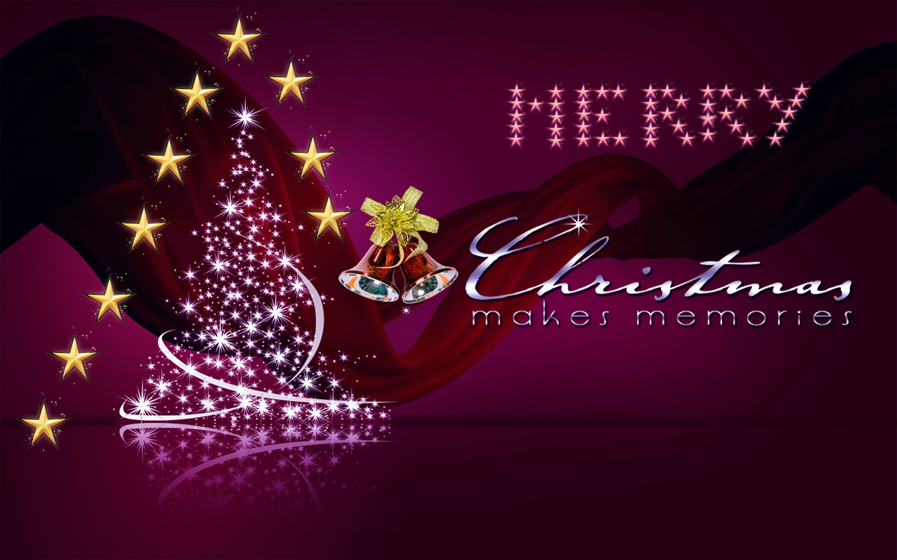 happy merry christmas free hd wallpaper
