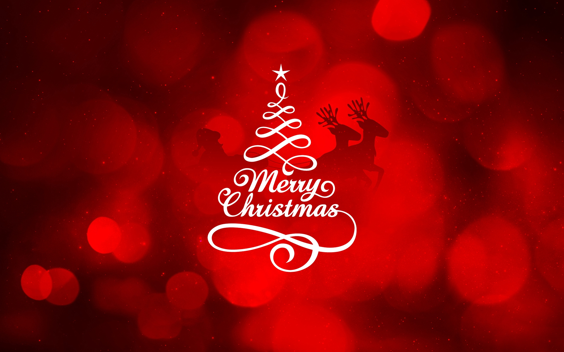 happy merry christmas tree wallpapers