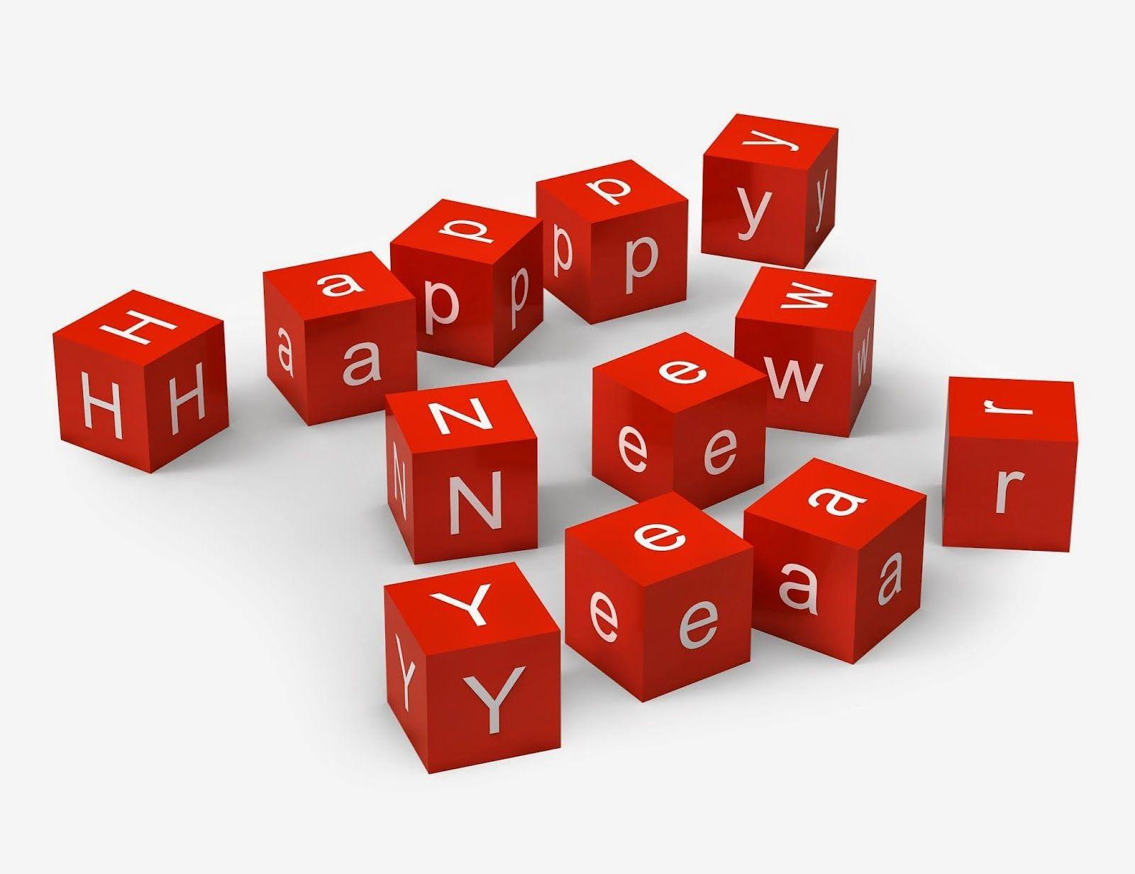 happy new year dice cute hd wallpaper