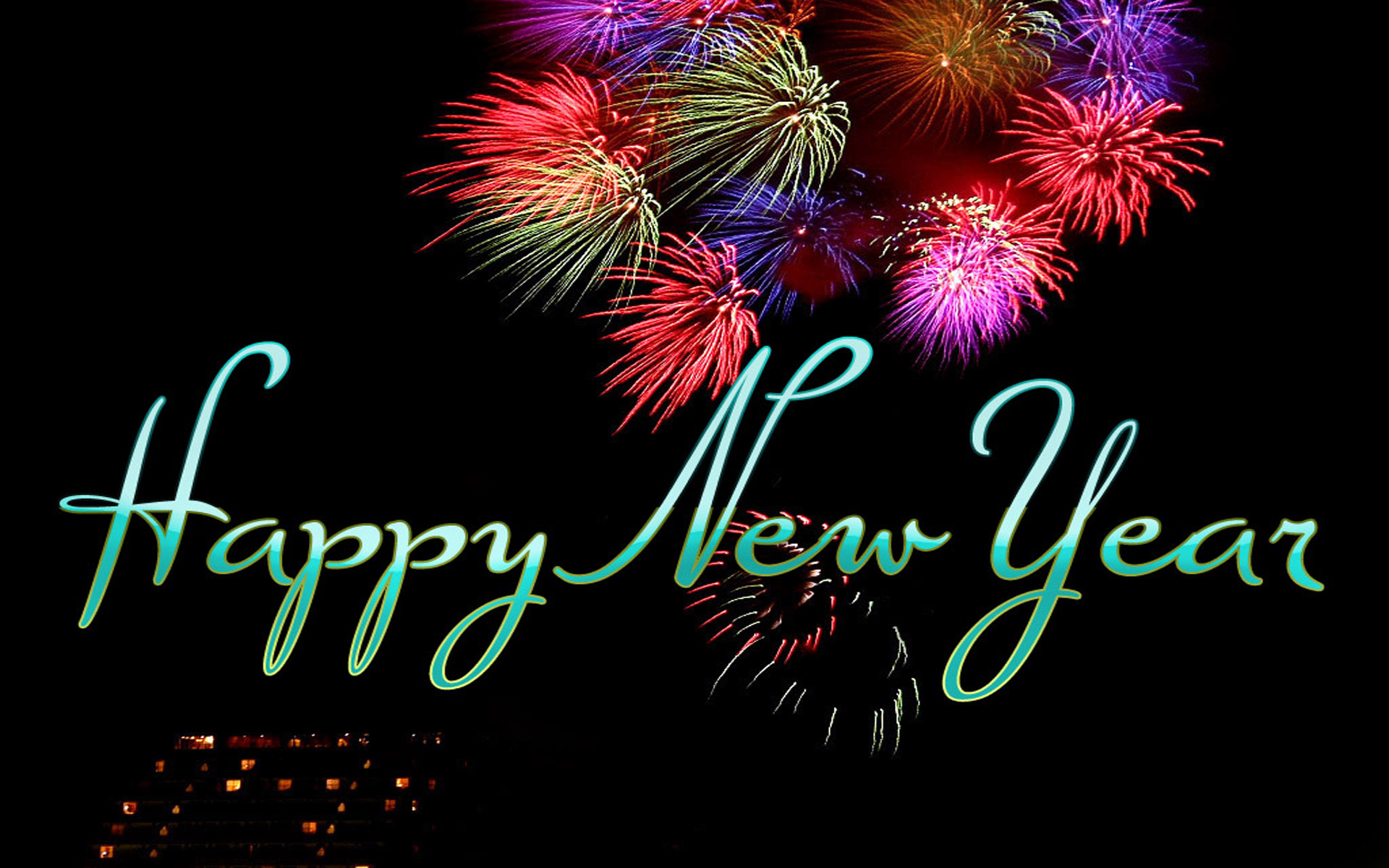 happy new year wishes hd wallpaper