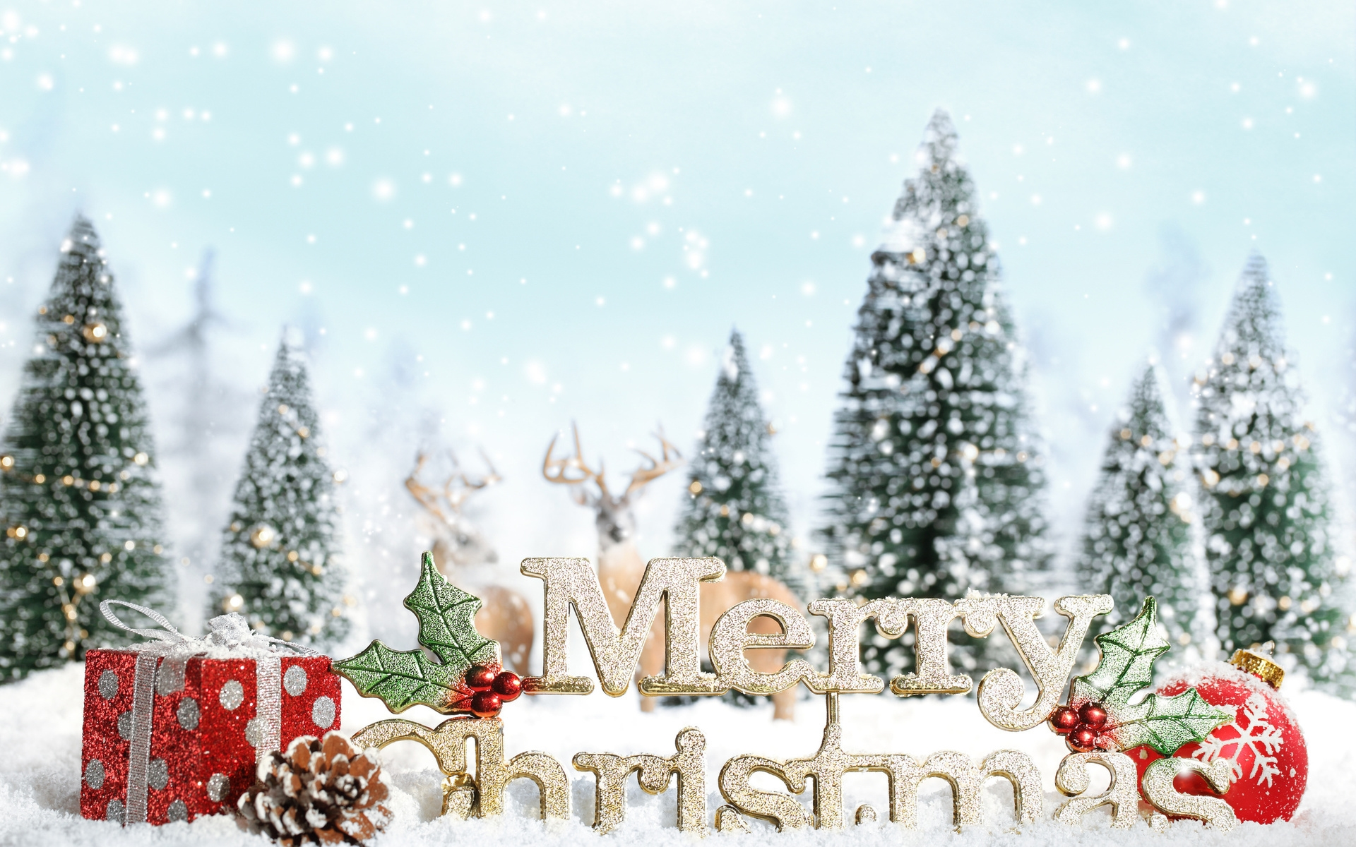 merry christmas background wallpaper 1920x1200