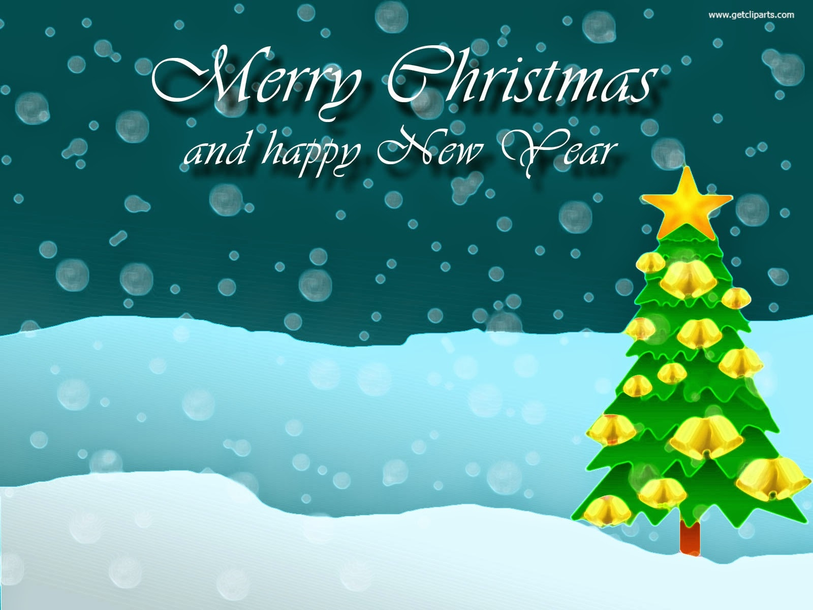 merry christmas happy new year free background - Merry Christmas And Happy New Year