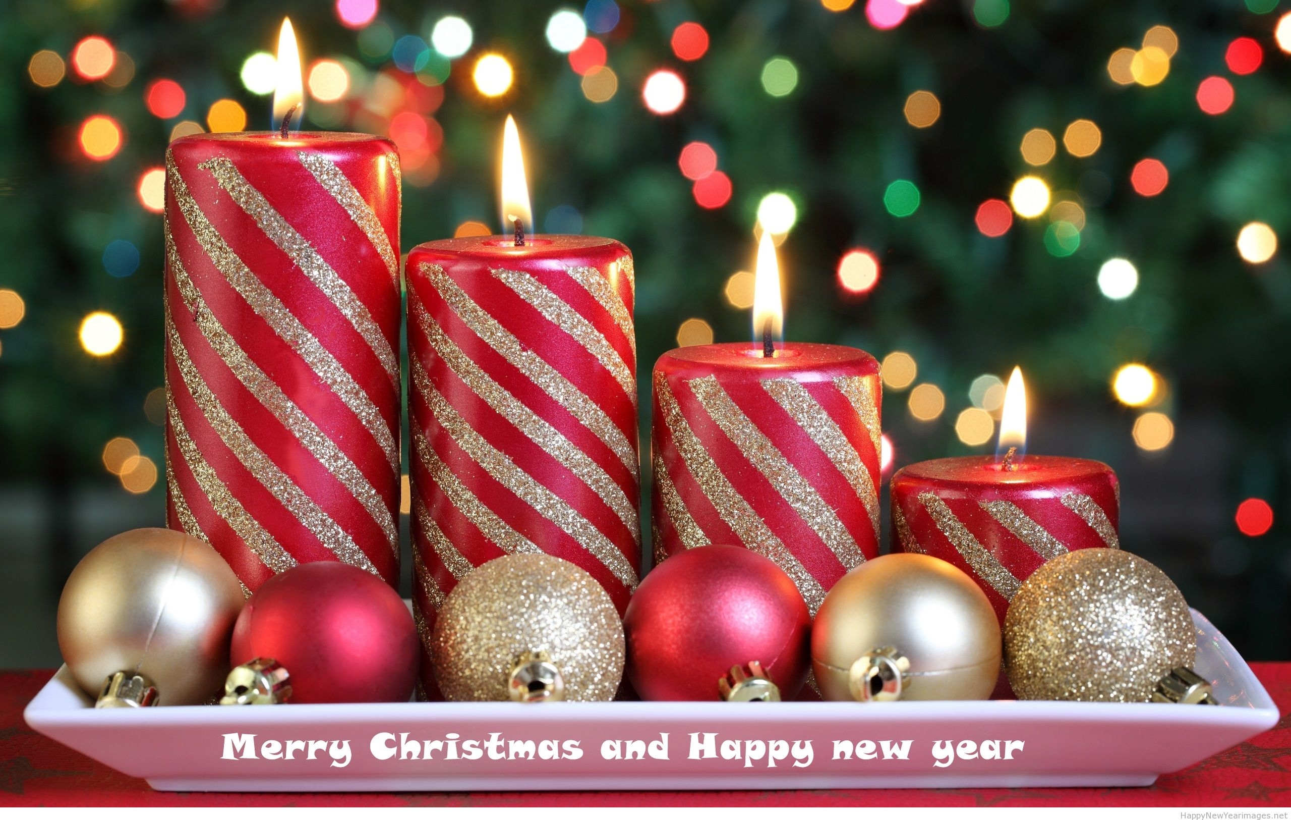 merry christmas happy new year greetings hd