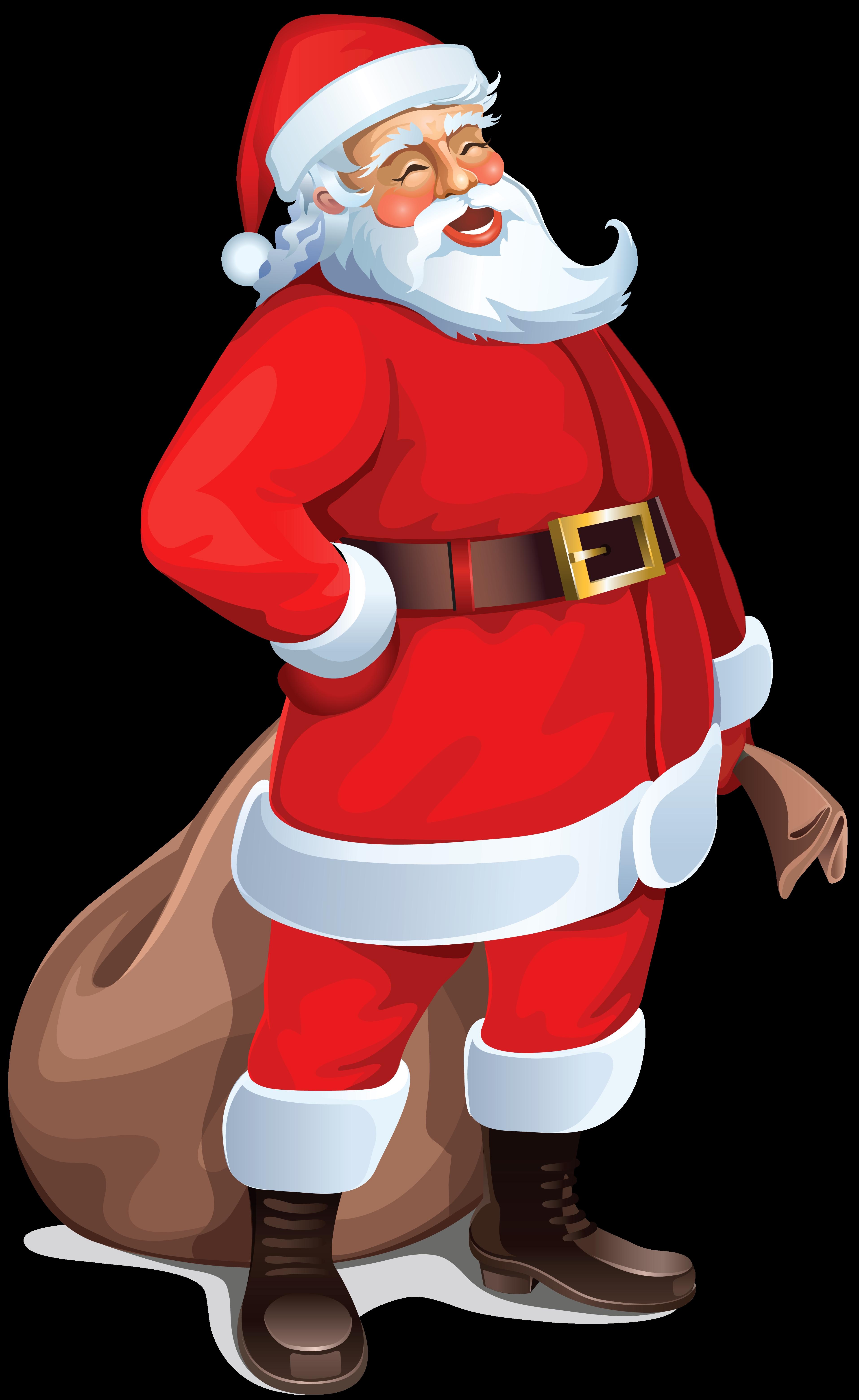 santa claus clipart hd image wallpaper