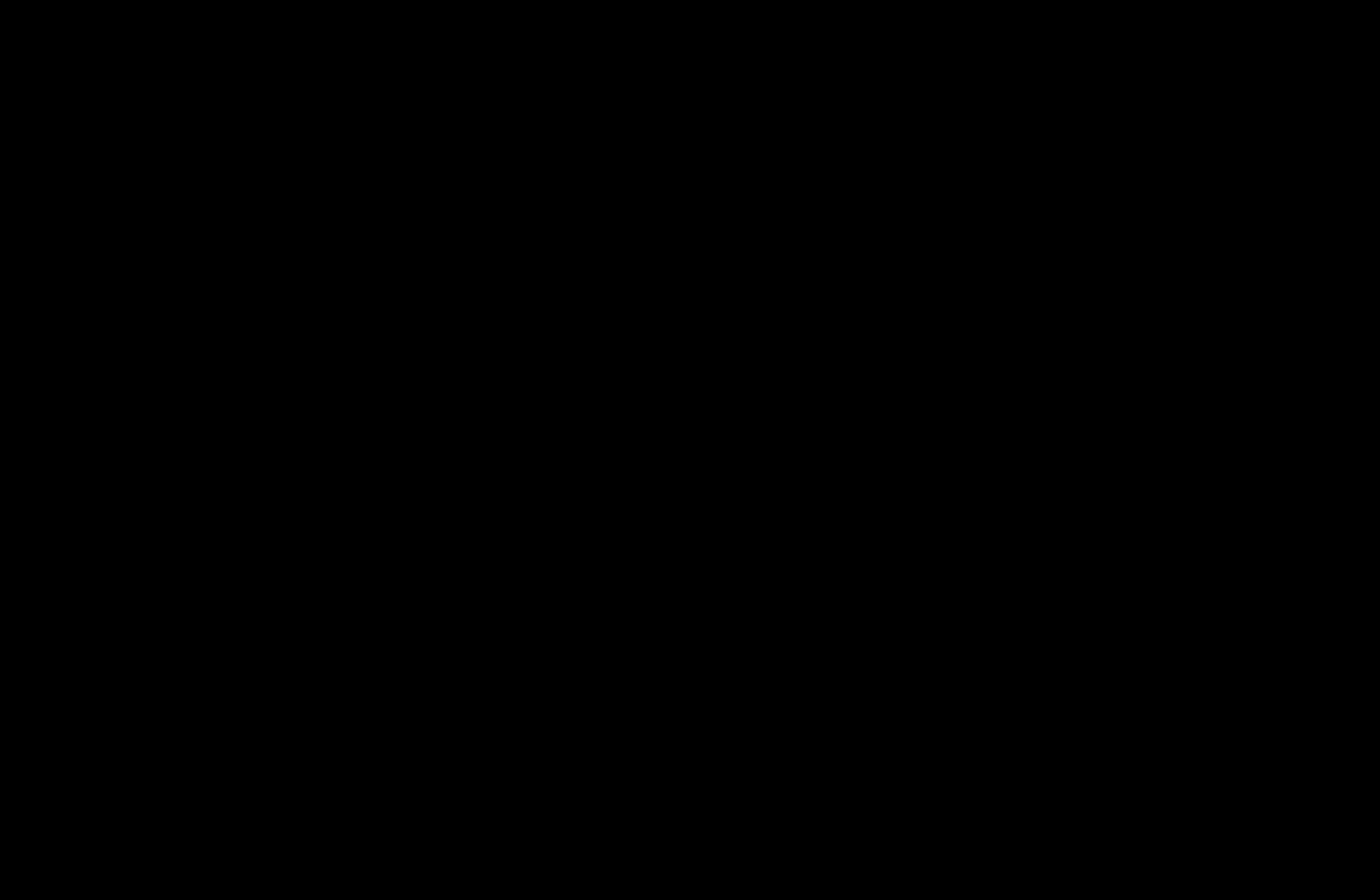 santa sleigh silhouette black