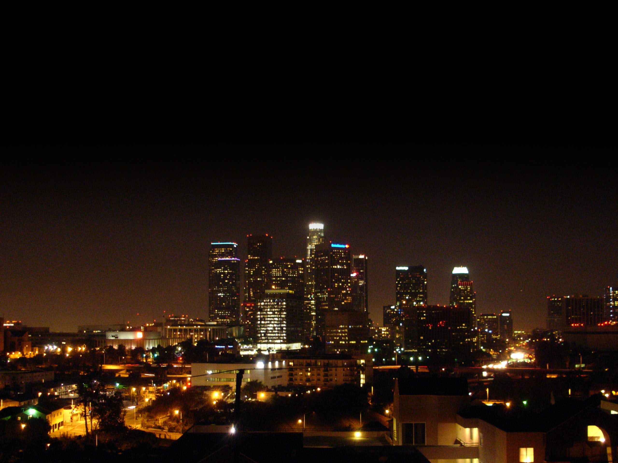 los angeles background