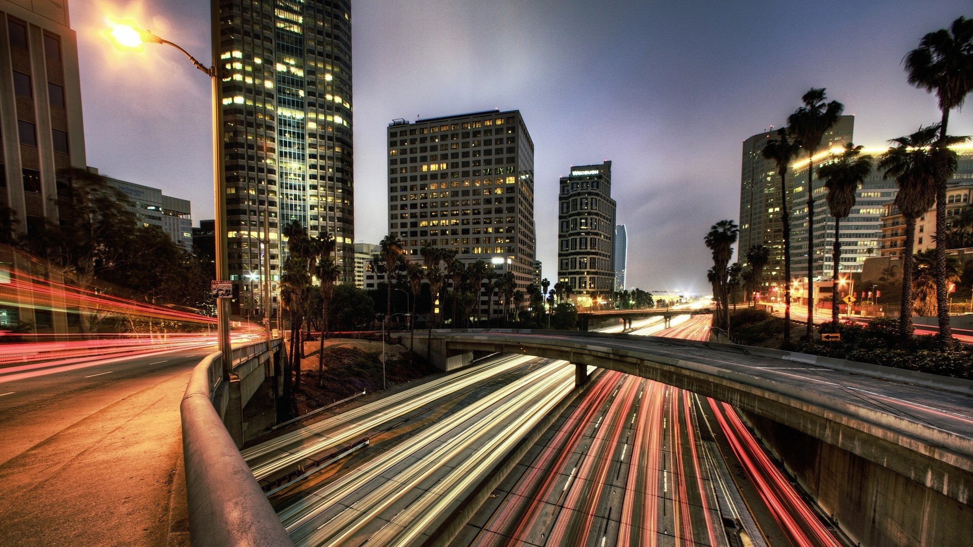 los angeles hd background