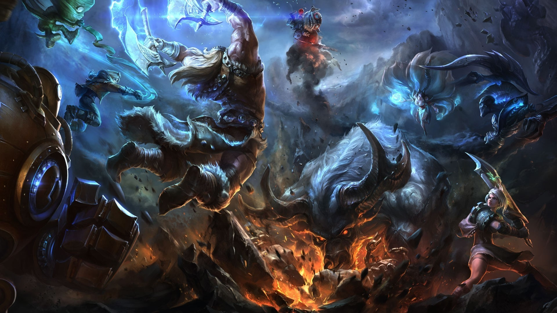 league of legends download wallpaper