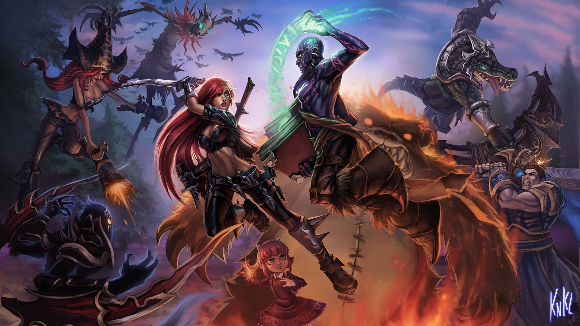 league of legends hd background