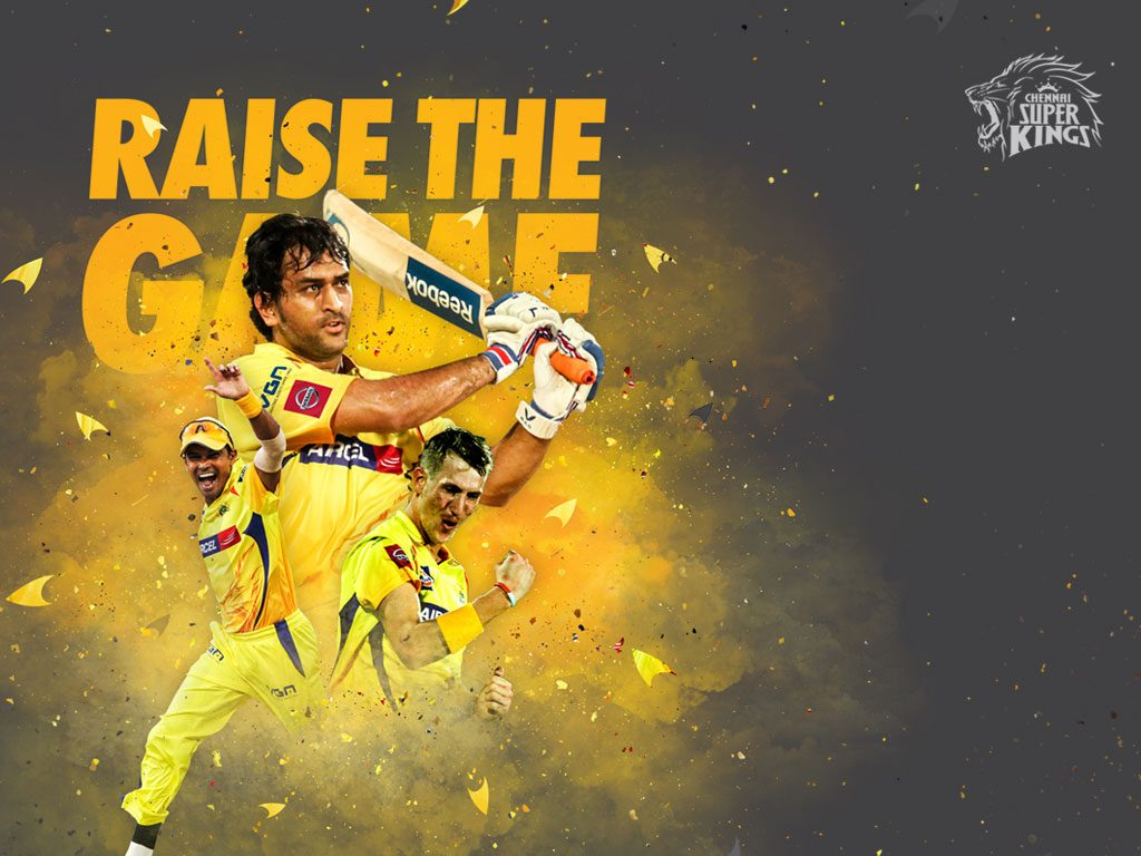 Ipl csk chennai super kings captain cool dhoni hd wallpaper for Home wallpaper chennai