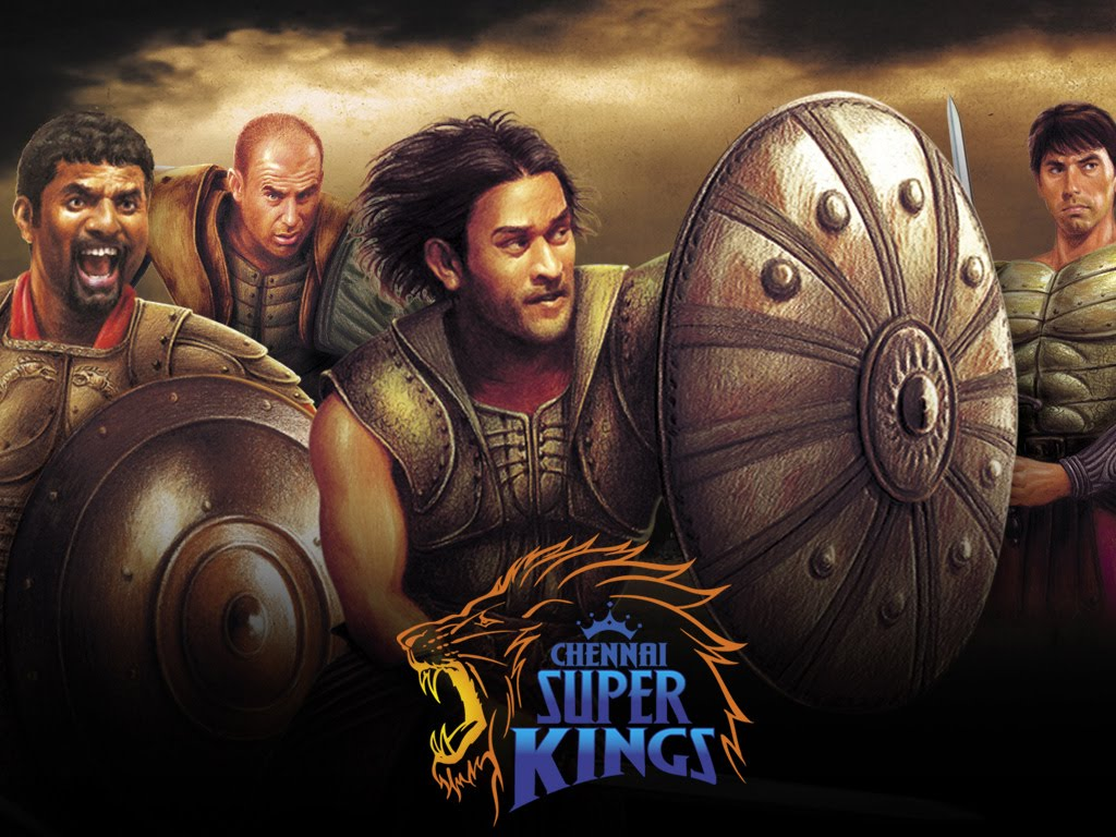 ipl csk chennai super kings dhoni warrior art hd wallpaper