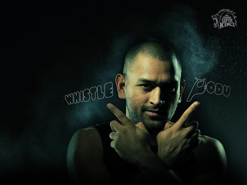 ipl csk chennai super kings dhoni whistle podu hd wallpaper