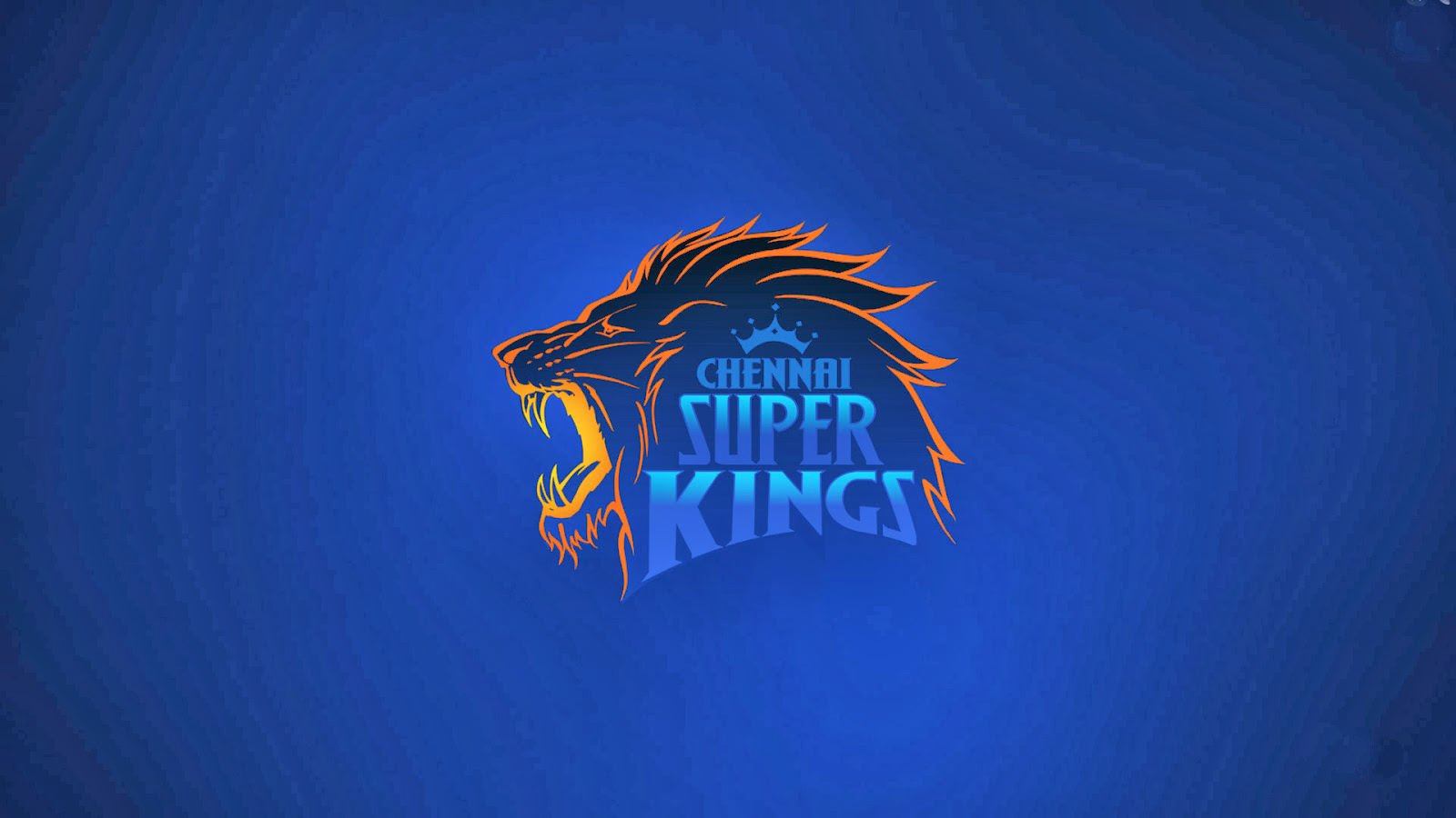 ipl csk chennai super kings logo blue background hd wallpaper