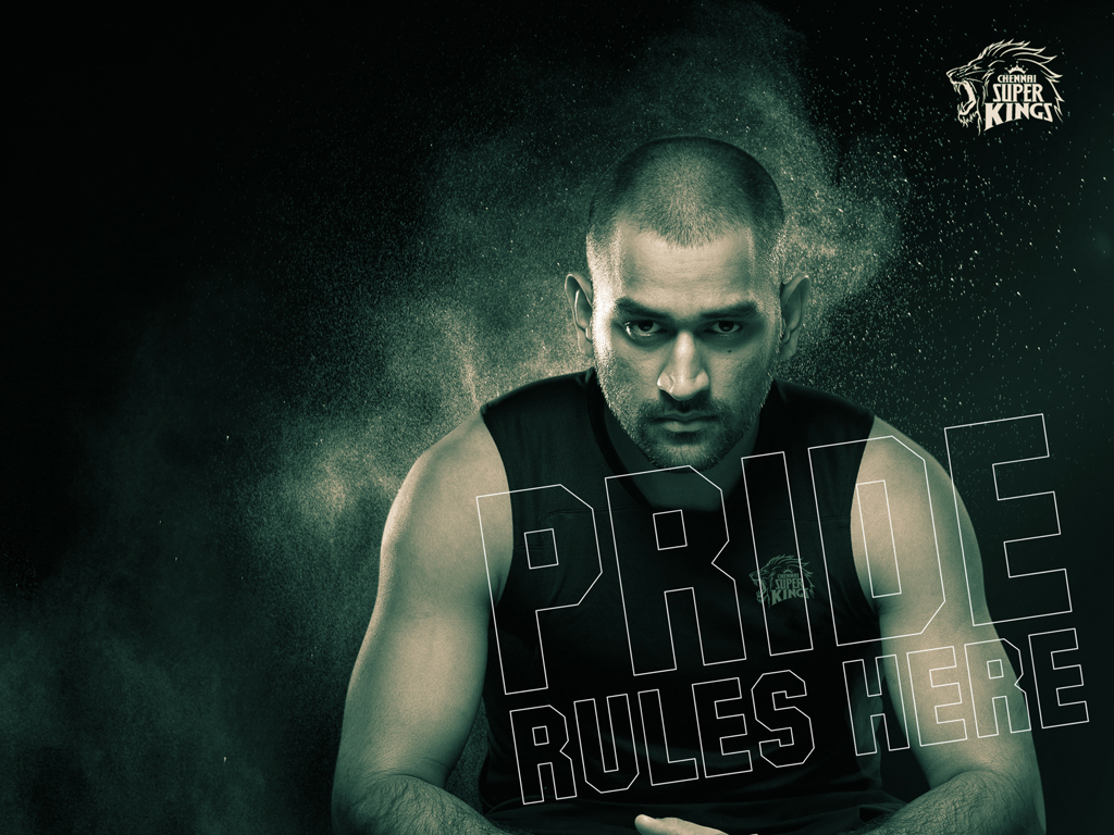 ipl csk chennai super kings thala captain dhoni rules hd wallpaper